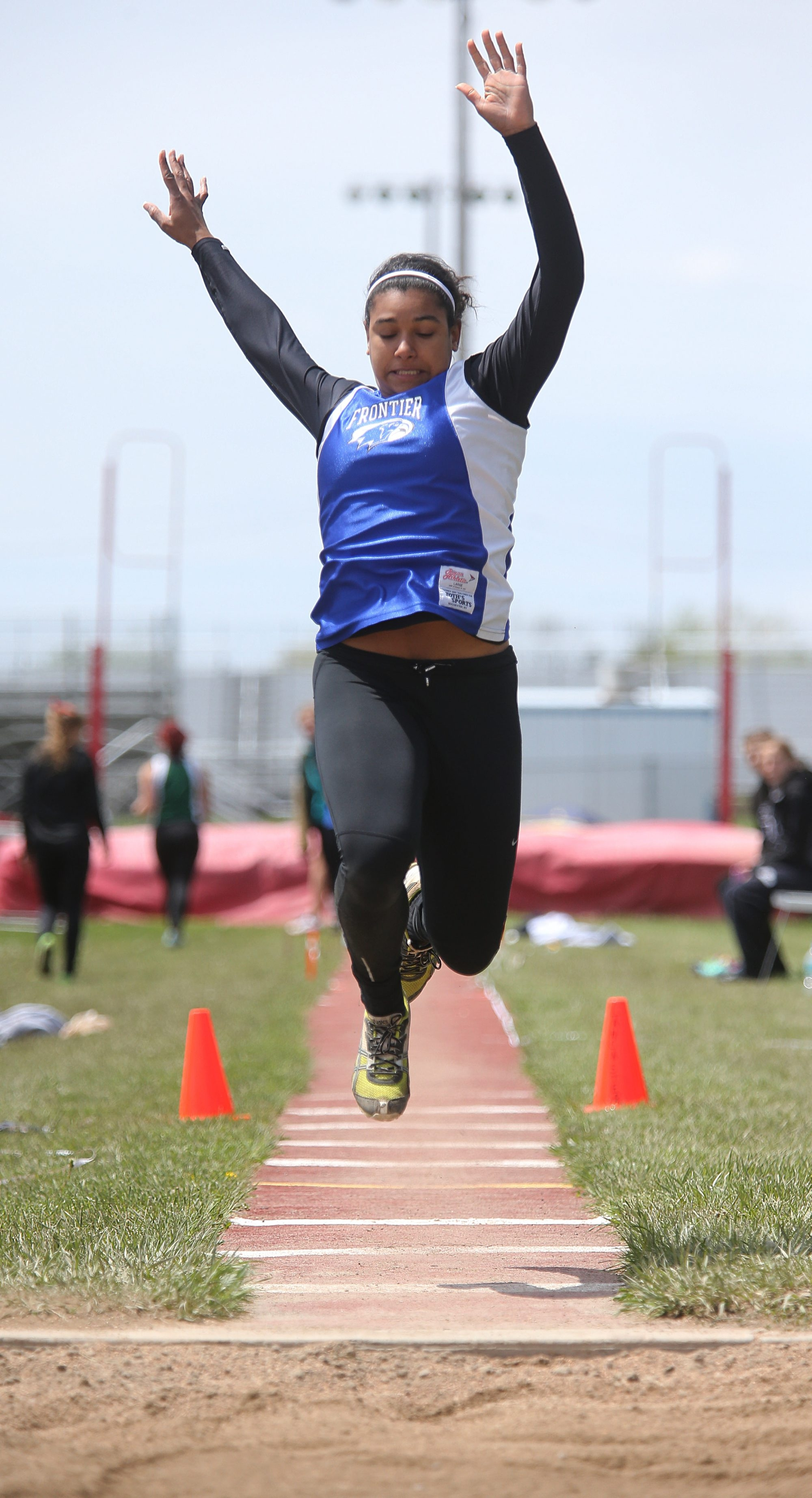 Frontier's McKyla Brooks is putting in the work to perhaps make another run at a state championship.