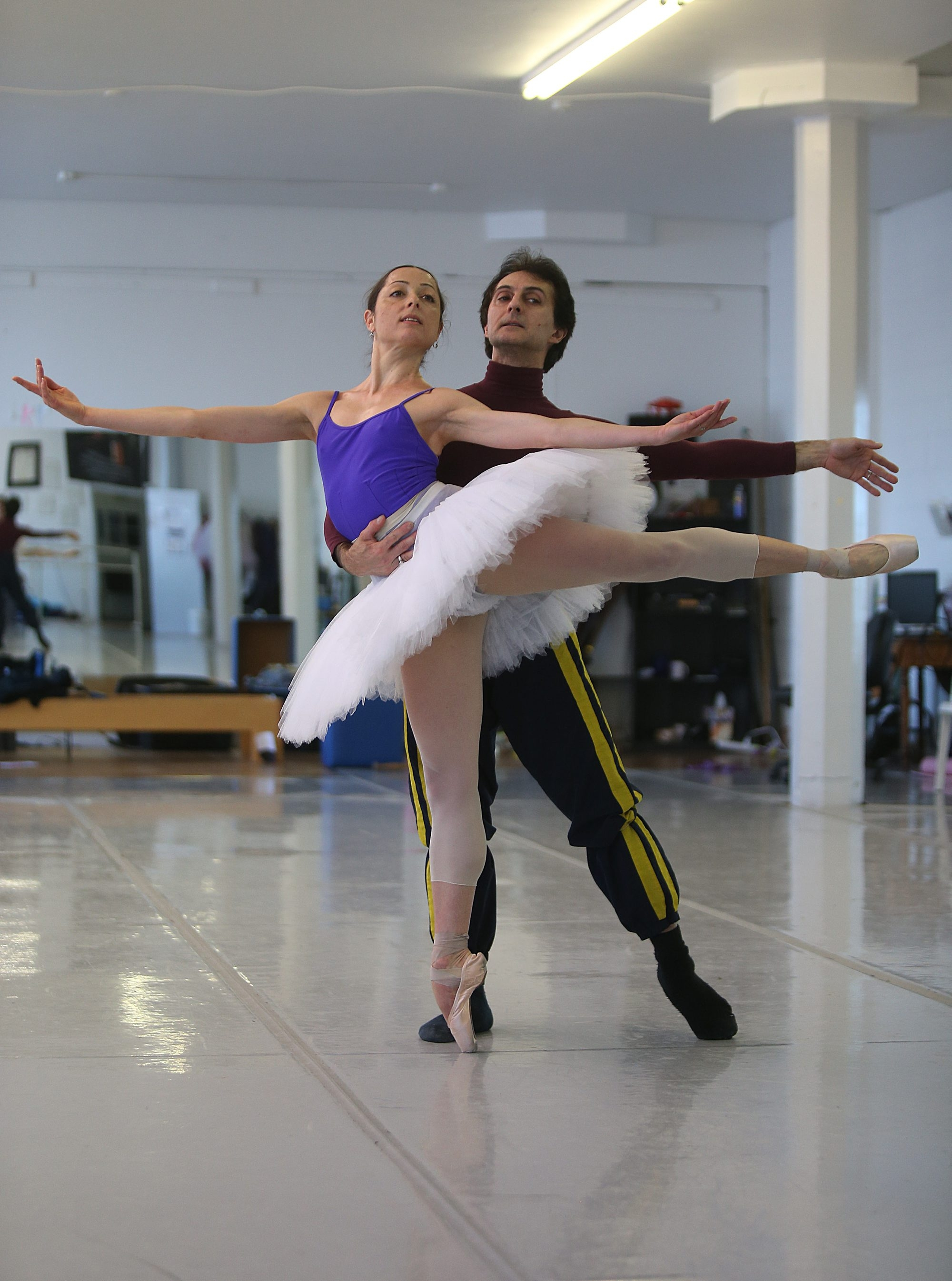 """Sergio Neglia and Silvina Vaccarelli will be appearing in """"Dancing to Live,"""" a fundraiser at Nichols School on Thursday. (Buffalo News file photo for Gusto Web)"""