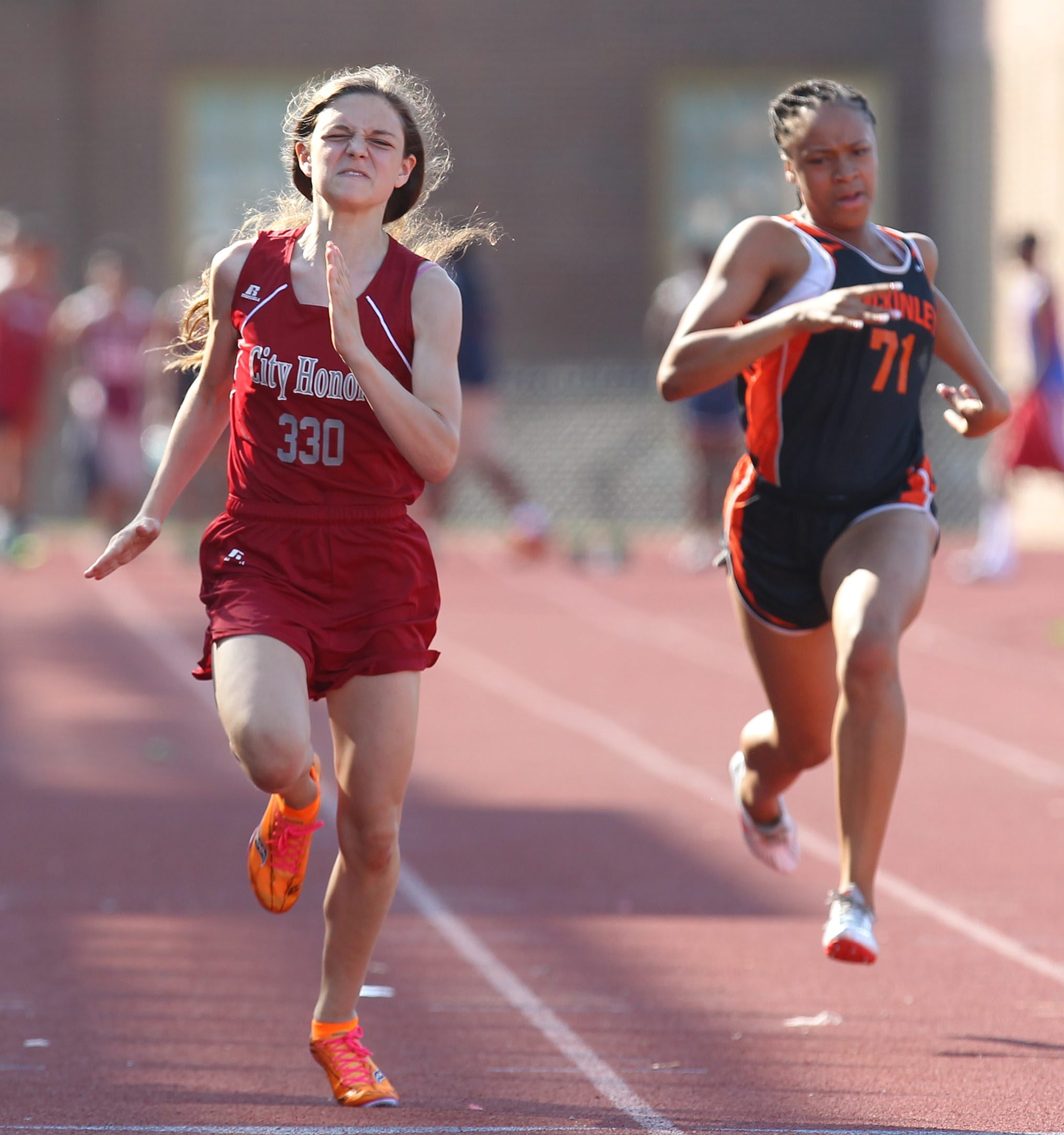 City Honor's Julia Ziaja is among the top 5 in the 100.