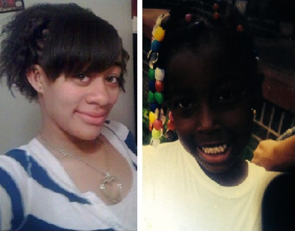 Police say Sierra Robinson Peoples, left, and Shanaia Habeeb have been found.