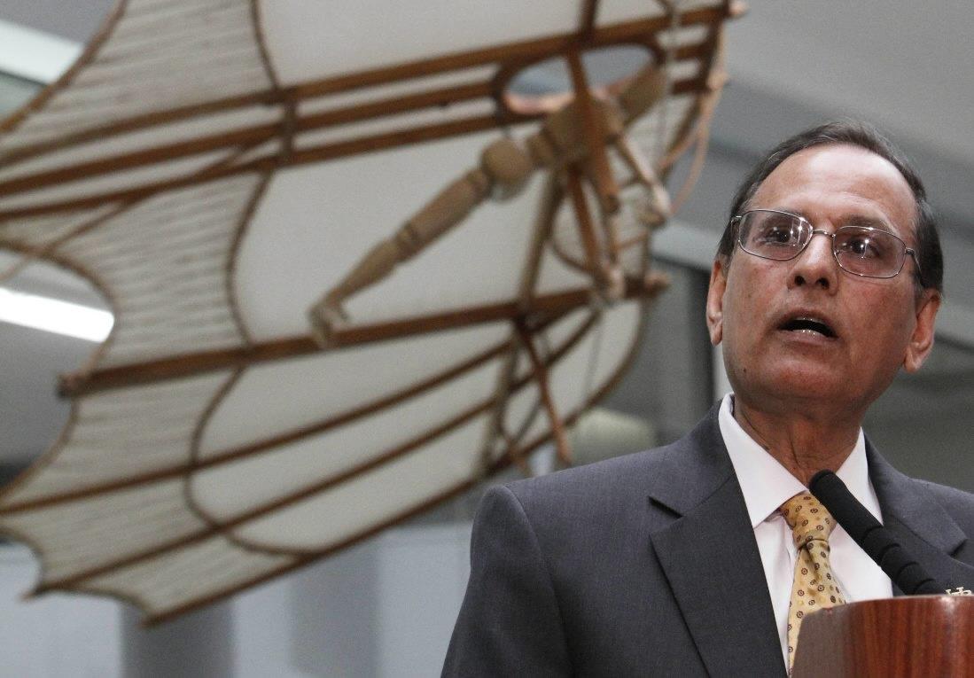 UB's Satish Tripathi had the highest SUNY salary in 2012-13. (Buffalo News file photo)