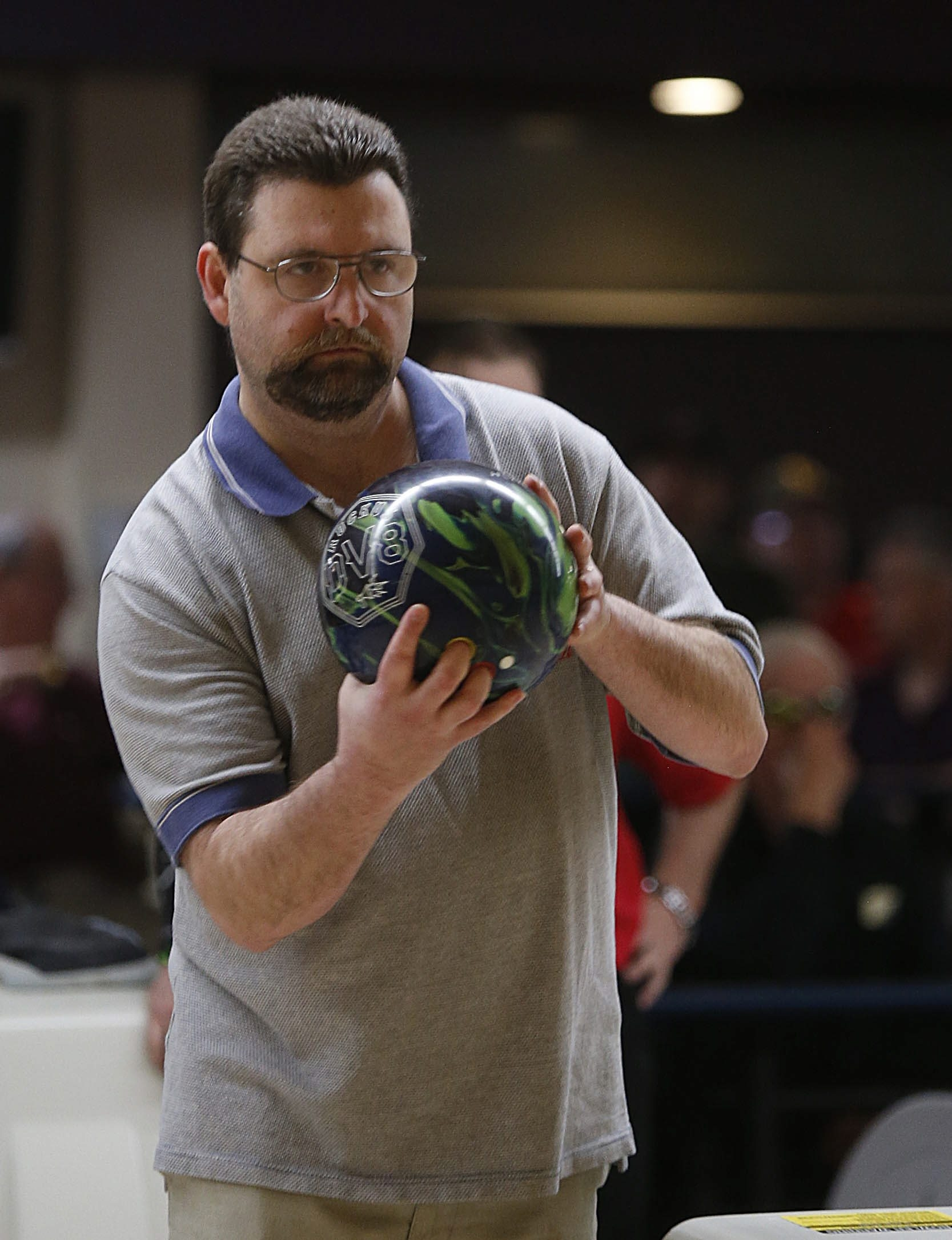 Mike Zarcone defeated Frank Bellavia Jr., 593-544, in the title match of the George A. Obenauer Masters.