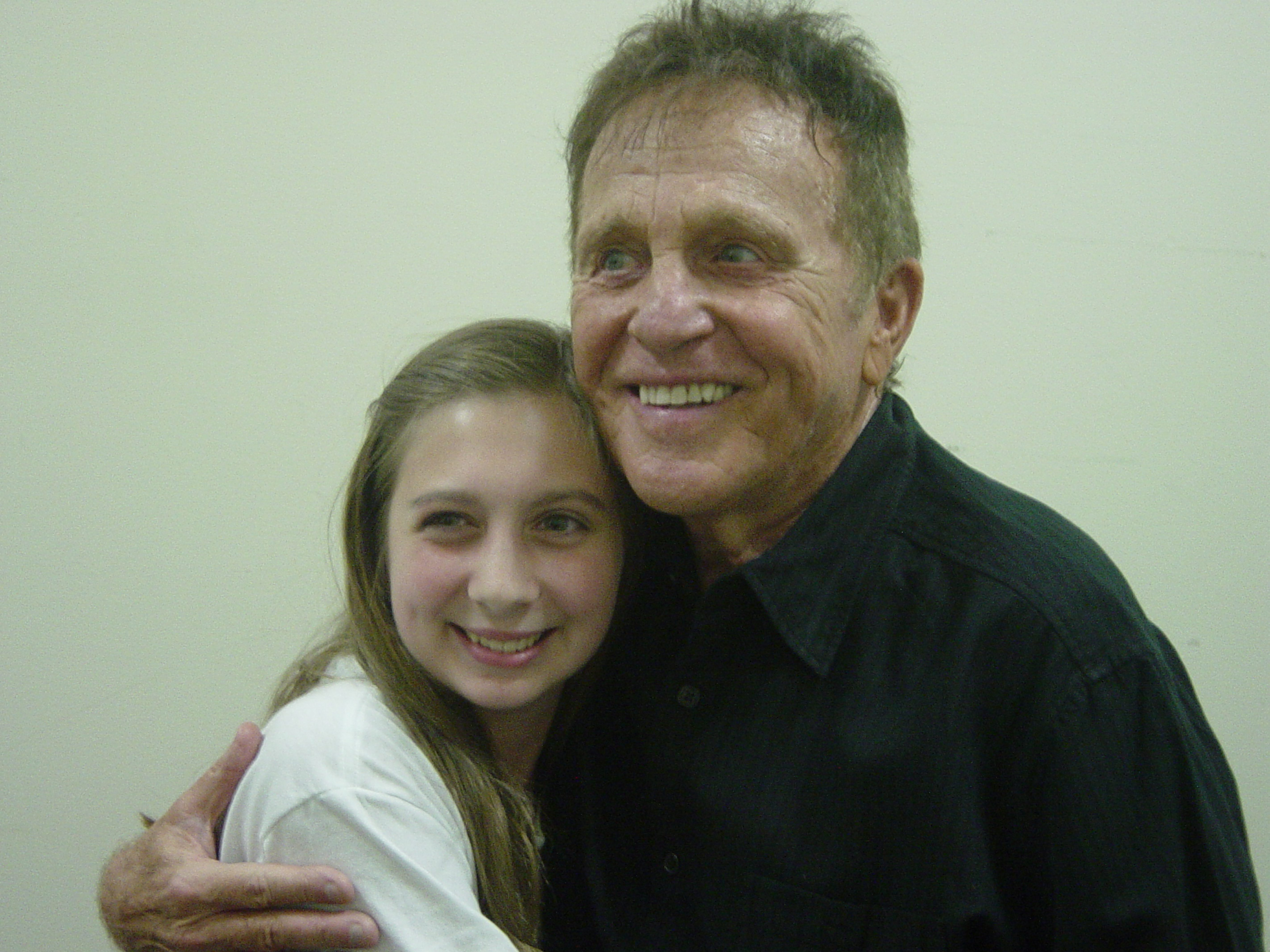 Kayla May, a freshman at Sacred Heart Academy, met one of her favorite crooners, Bobby Vinton, when he was in town last year.