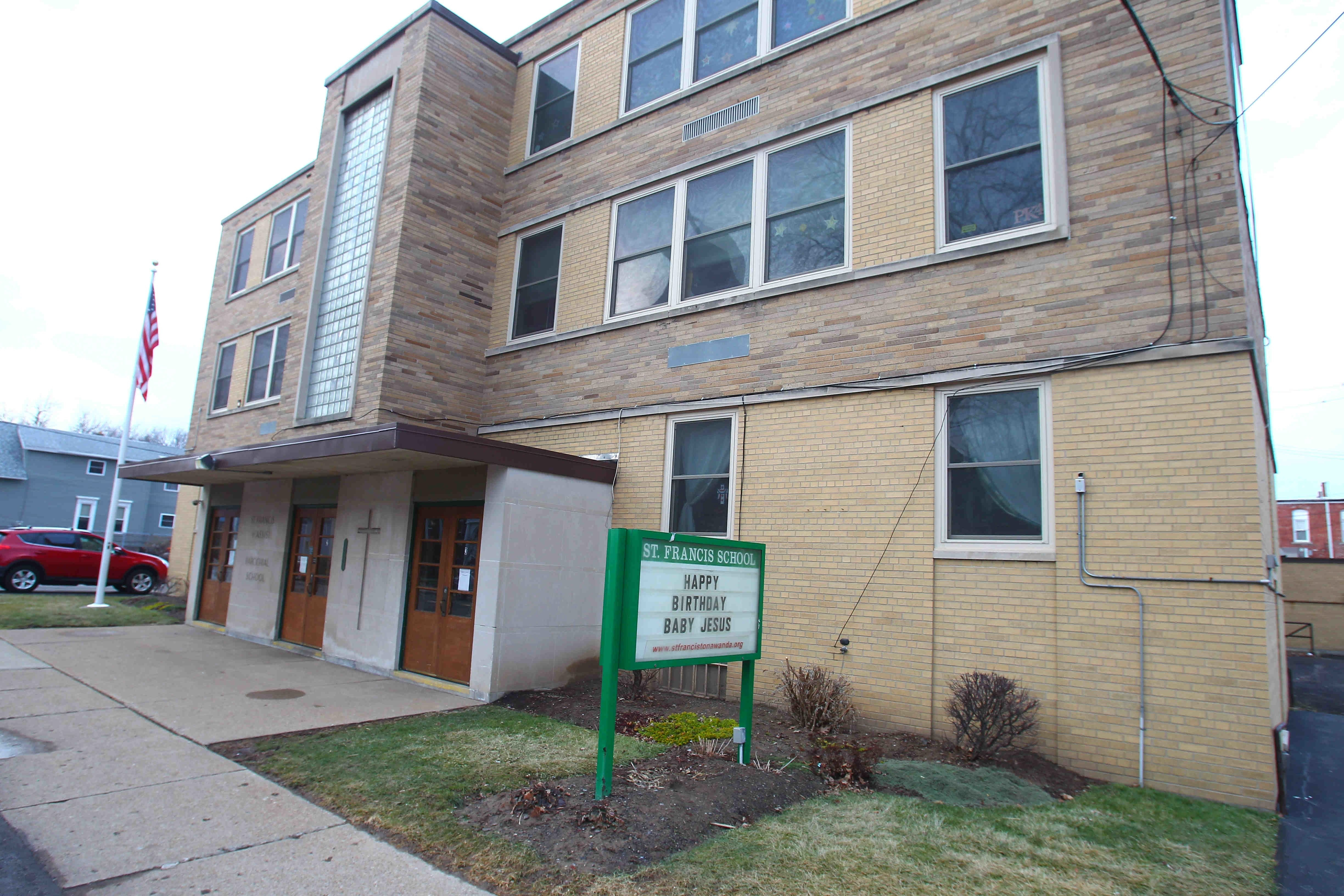 An appeal to save St. Francis of Assisi School in Tonawanda, and two other Catholic elementary schools in the area, has been rejected by the Vatican. (Buffalo News file photo)