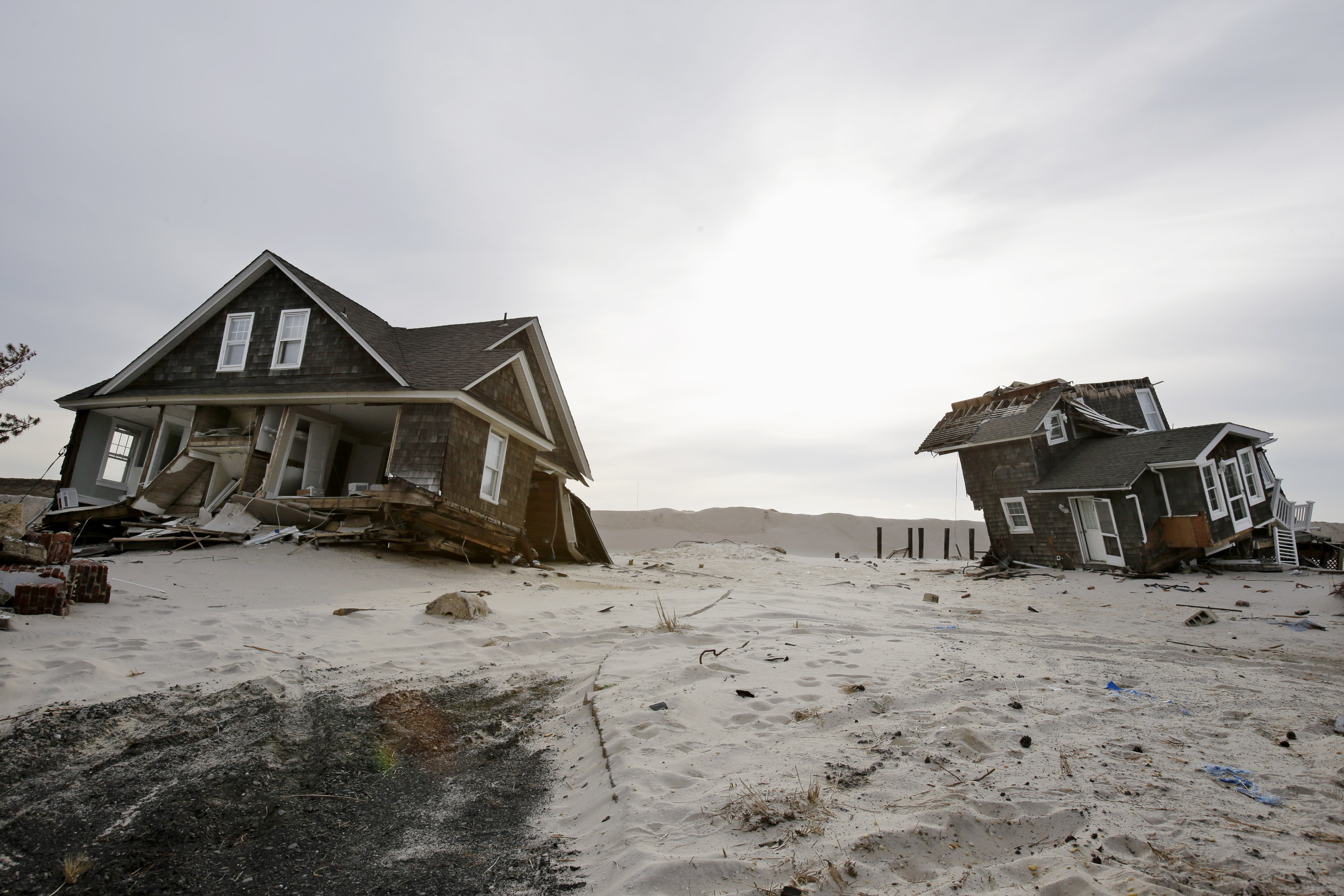 We cannot risk ignoring the effects of climate change, which scientists say will increase the likelihood of devastating storms like Hurricane Sandy. (AP file photo)