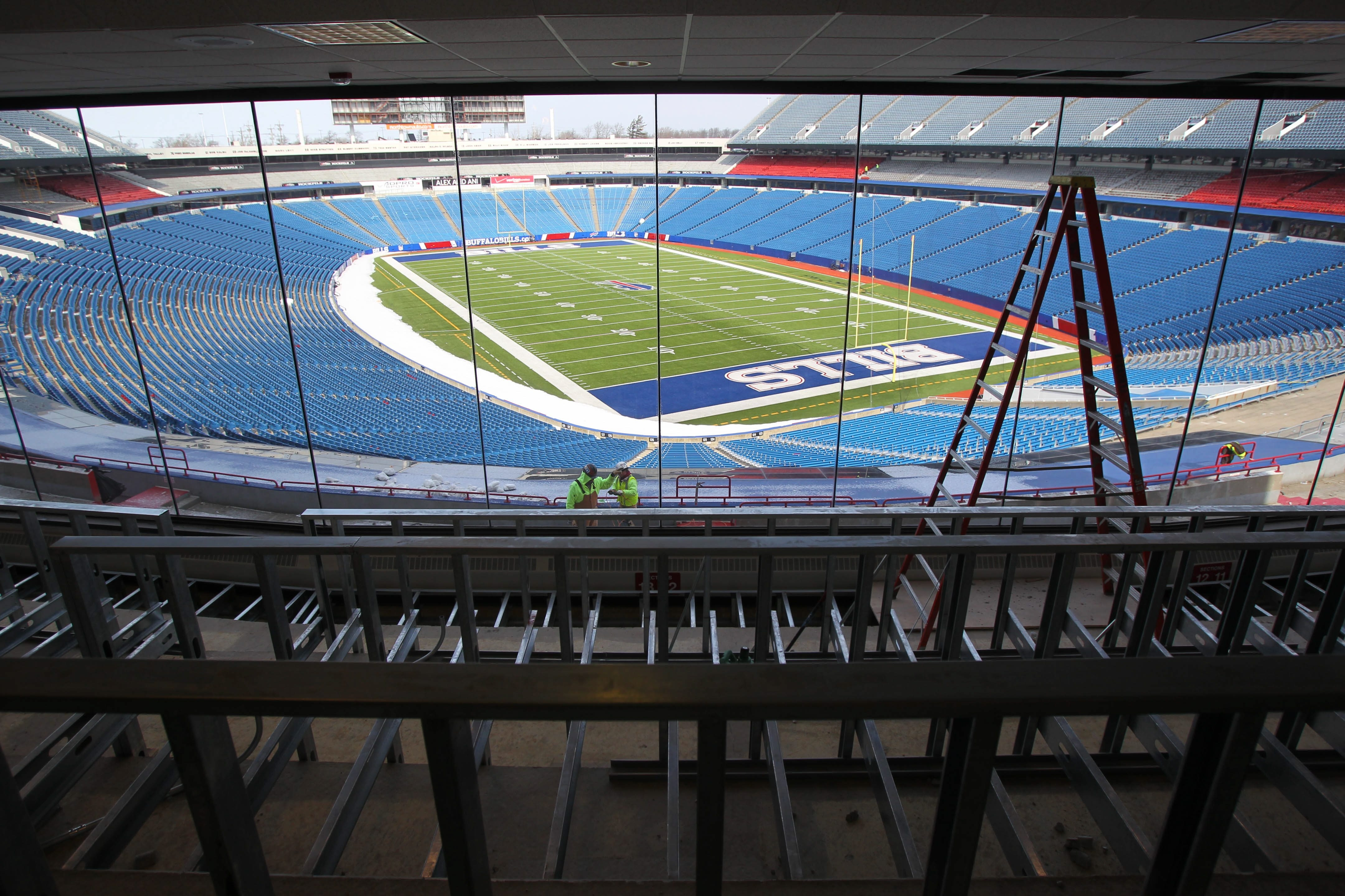 NFL Commissioner Roger Goodell says Ralph Wilson Stadium needs to be replaced if the Bills are to remain in Buffalo. (Buffalo News file photo)