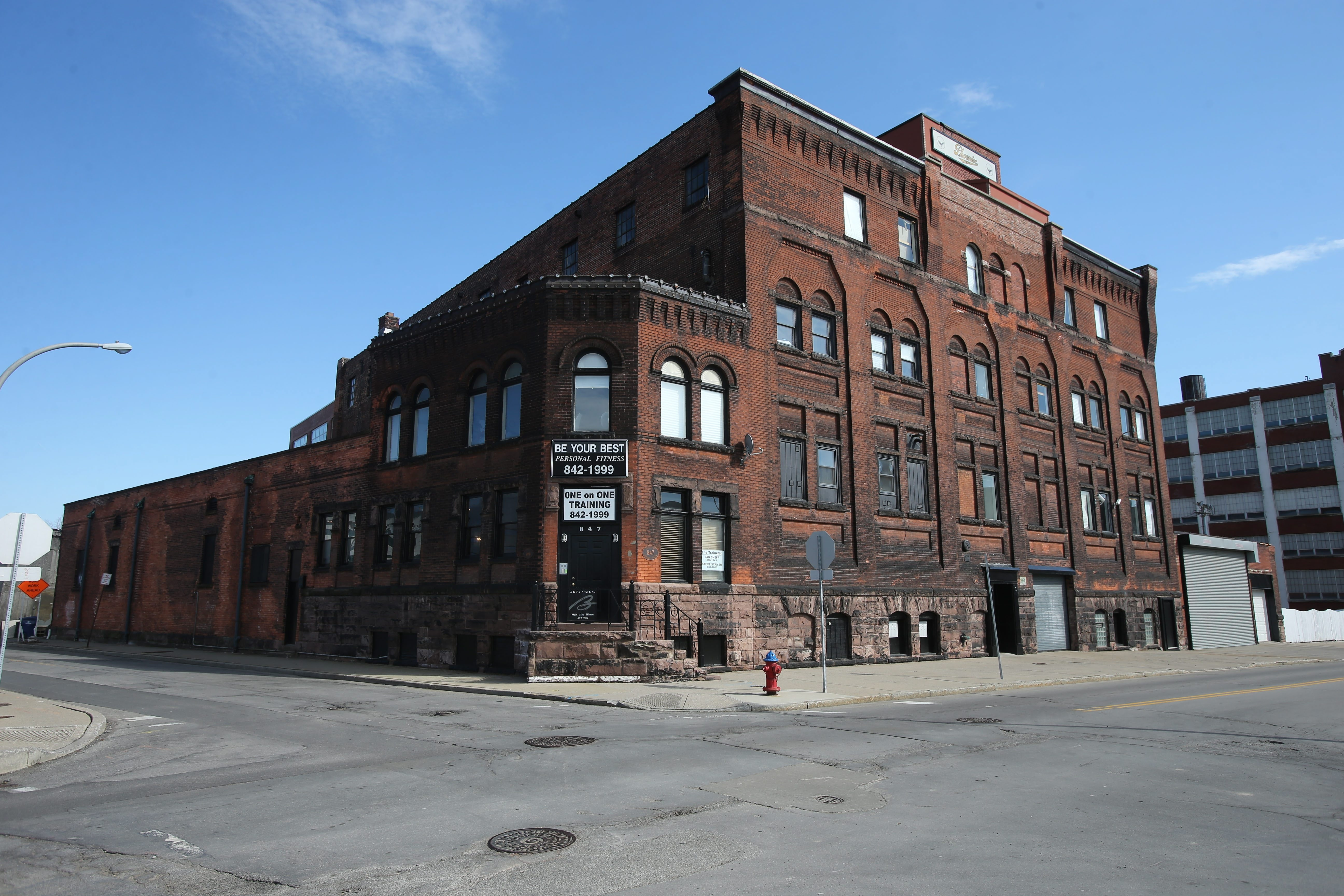 This building at 847 Washington St. in downtown Buffalo is scheduled to be turned into a luxury apartment building.