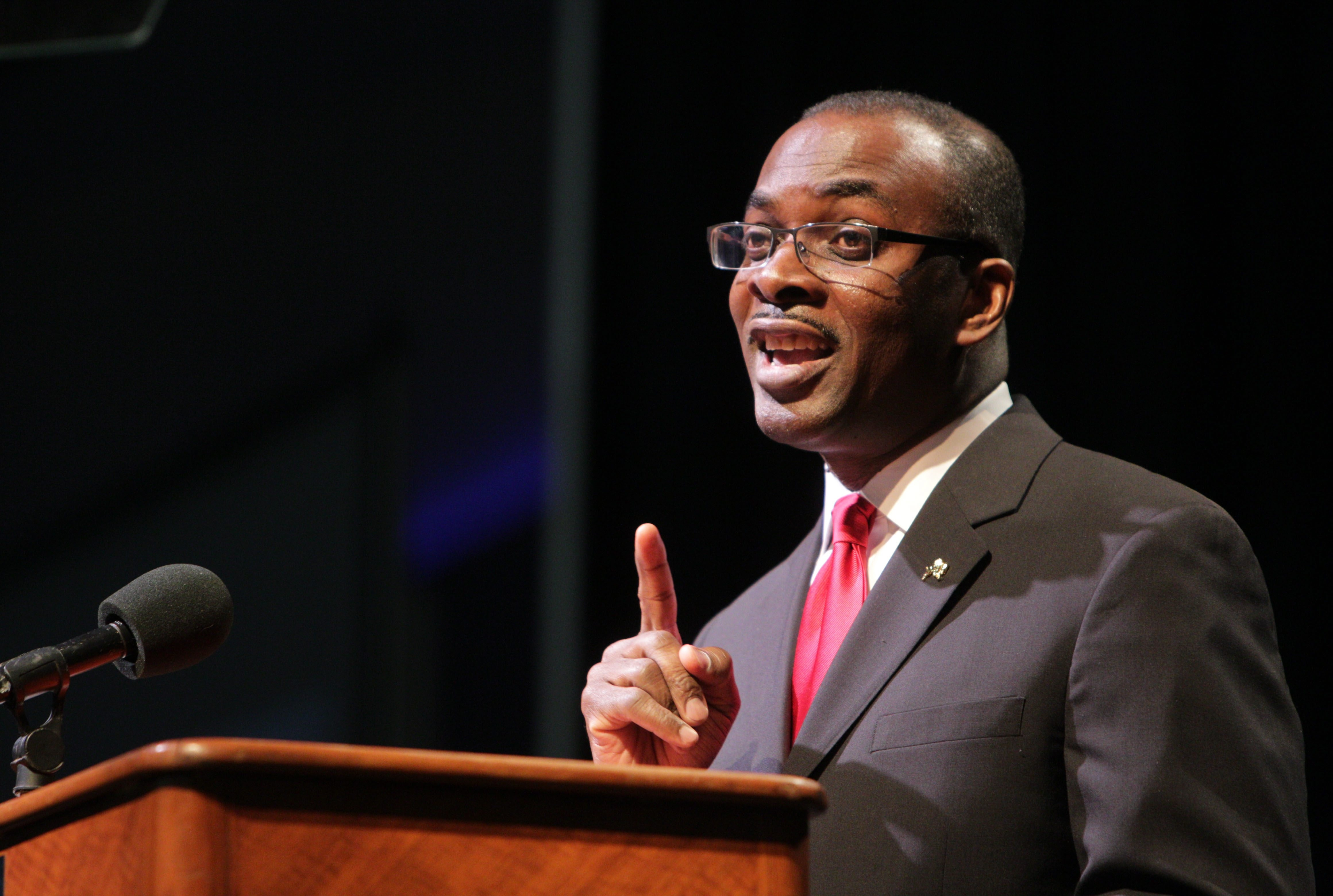 Mayor Byron W. Brown's budget proposal documents Buffalo's improved financial picture. Under his plan, spending would rise just 2 percent and taxes on residences and business would decline slightly.