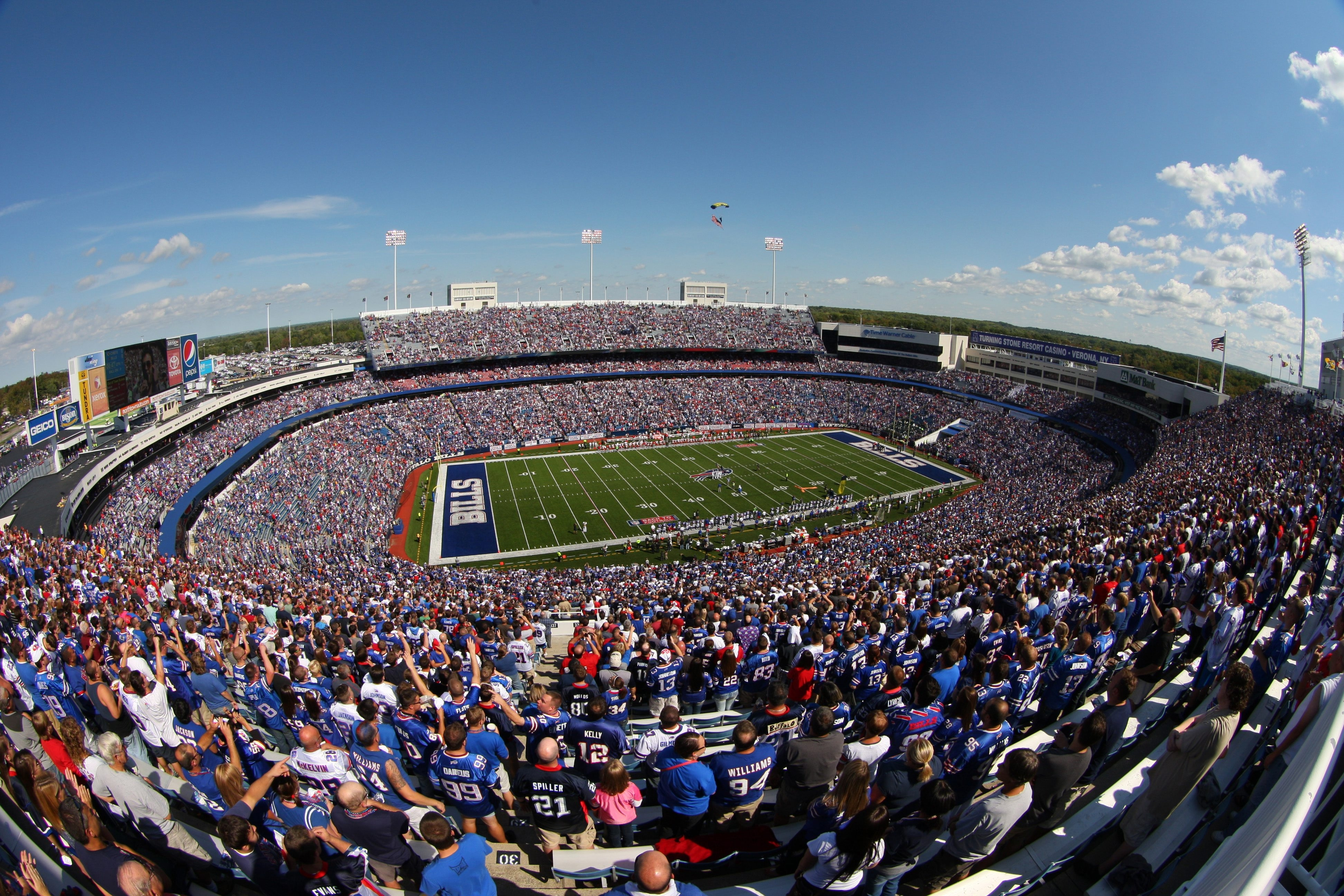 The study will also consider the costs of keeping the Buffalo Bills' current home, Ralph Wilson Stadium.