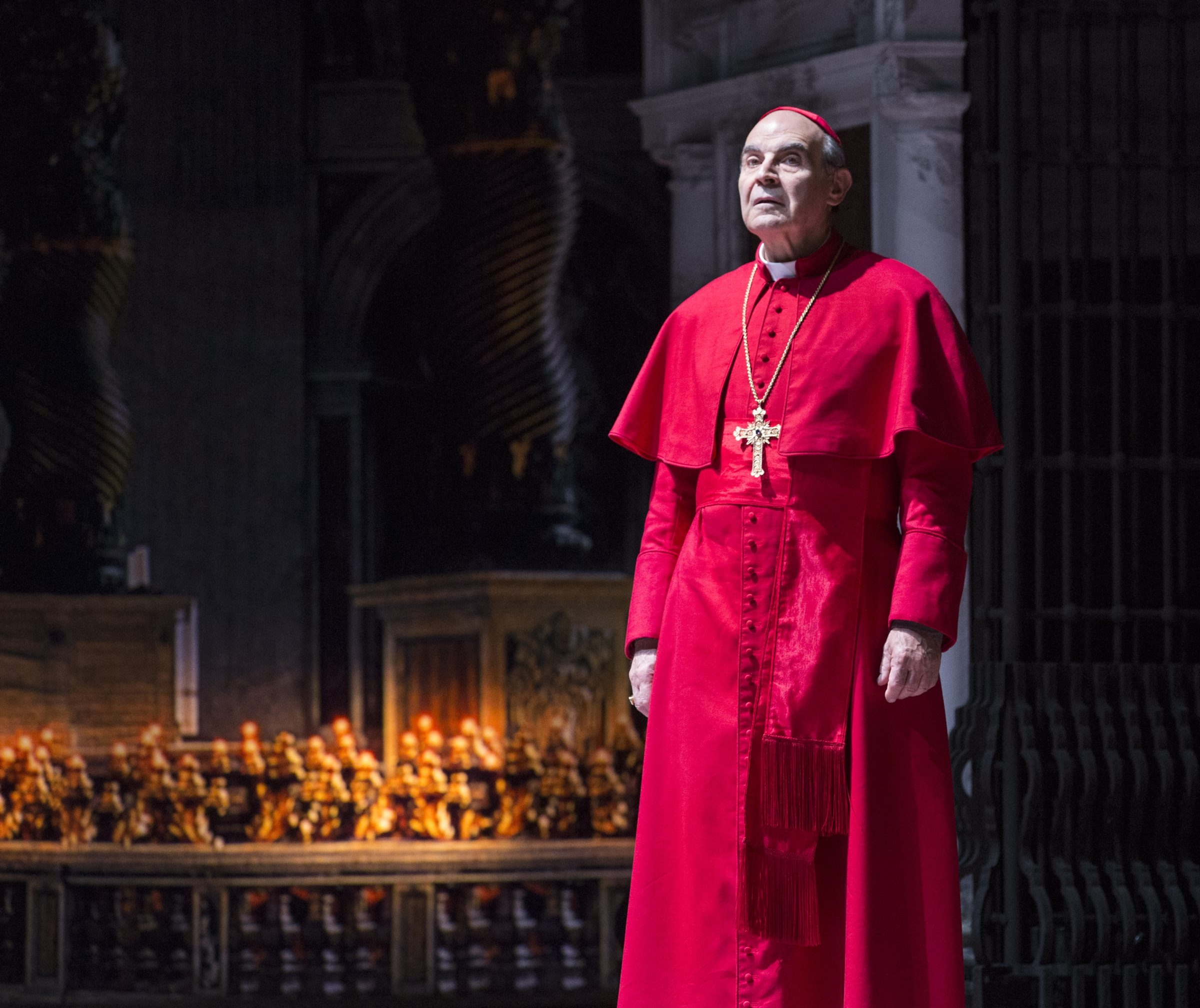 """David Suchet stars in the gripping """"The Last Confession,"""" on stage at the Royal Alexandra Theatre."""