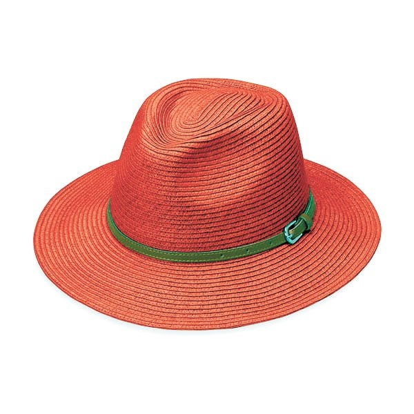 Wallaroo Hat Co. offers UPF 50 plus crushable hats in fun colors.