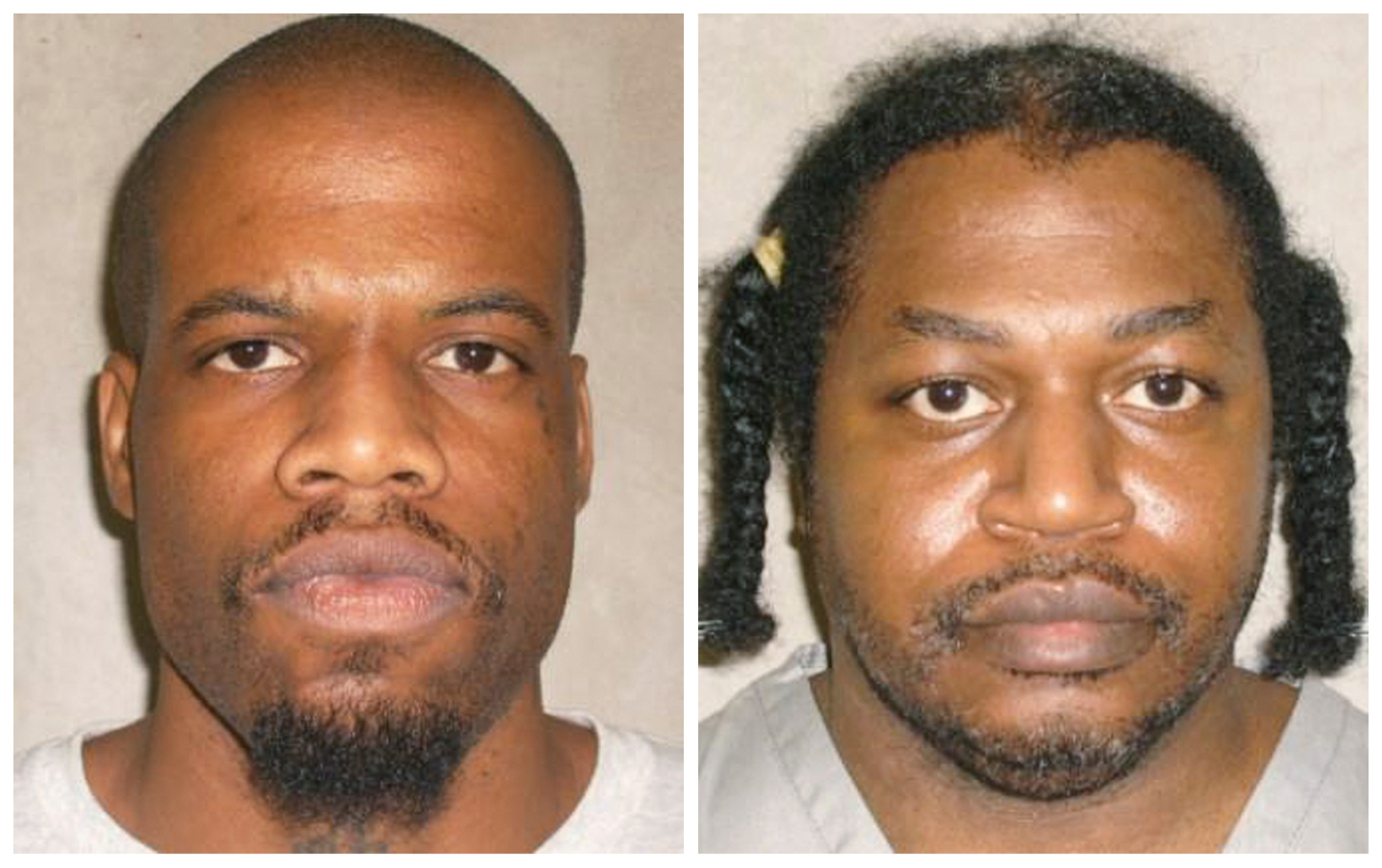 The botched execution of Clayton Lockett, left, forced Oklahoma to postpone the attempt to execute Charles Warner. (AP photo)