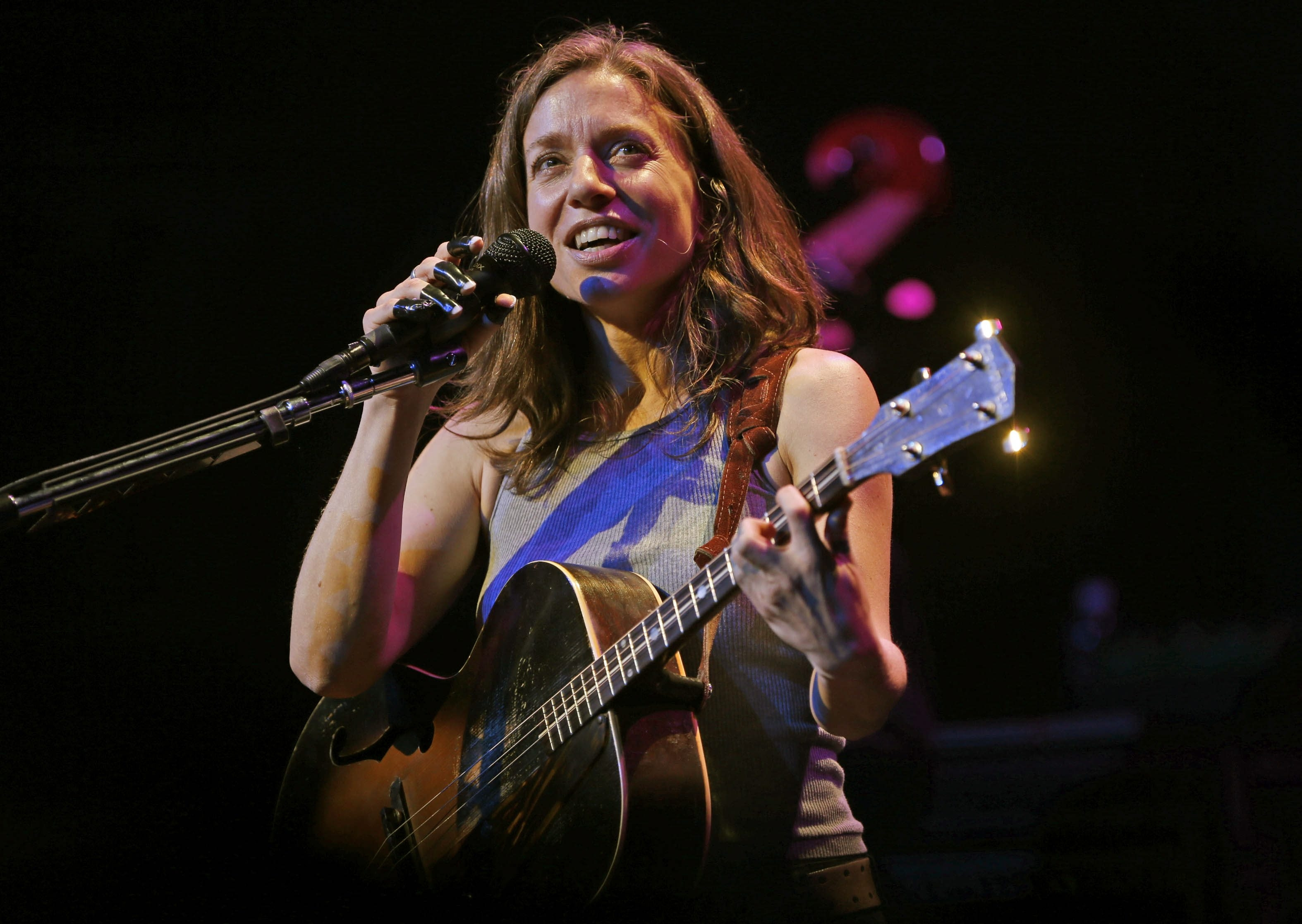"""The News' Jeff Miers writes, """"Even if Friday's show felt like a giddy hang with an old friend, it was in fact an opportunity for us all to become reacquainted with the ceaselessly inventive songwriter and musician that Ani DiFranco is."""""""
