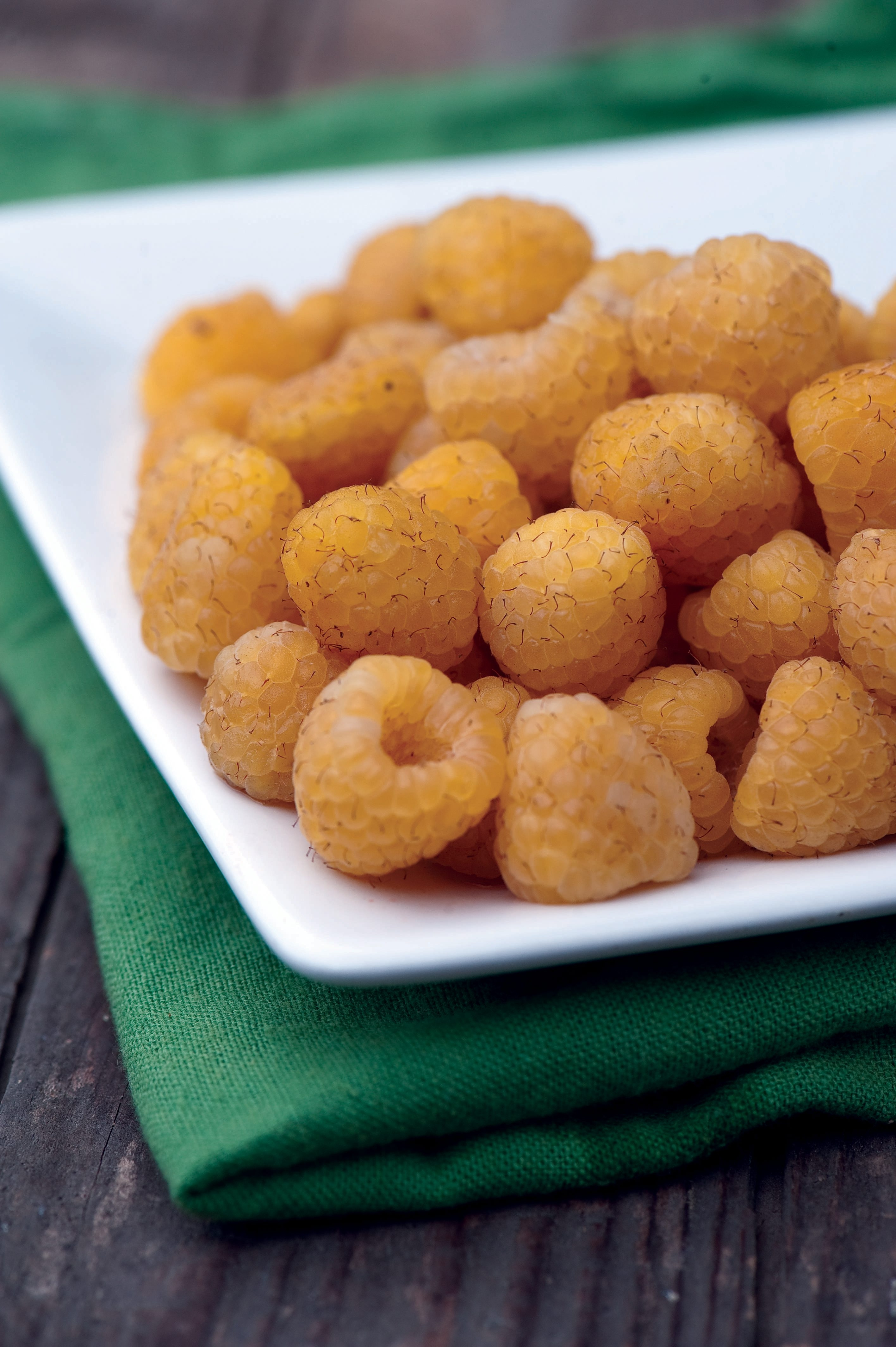 Golden treat: This photo from Burpee shows yellow Raspberry 'Anne.'