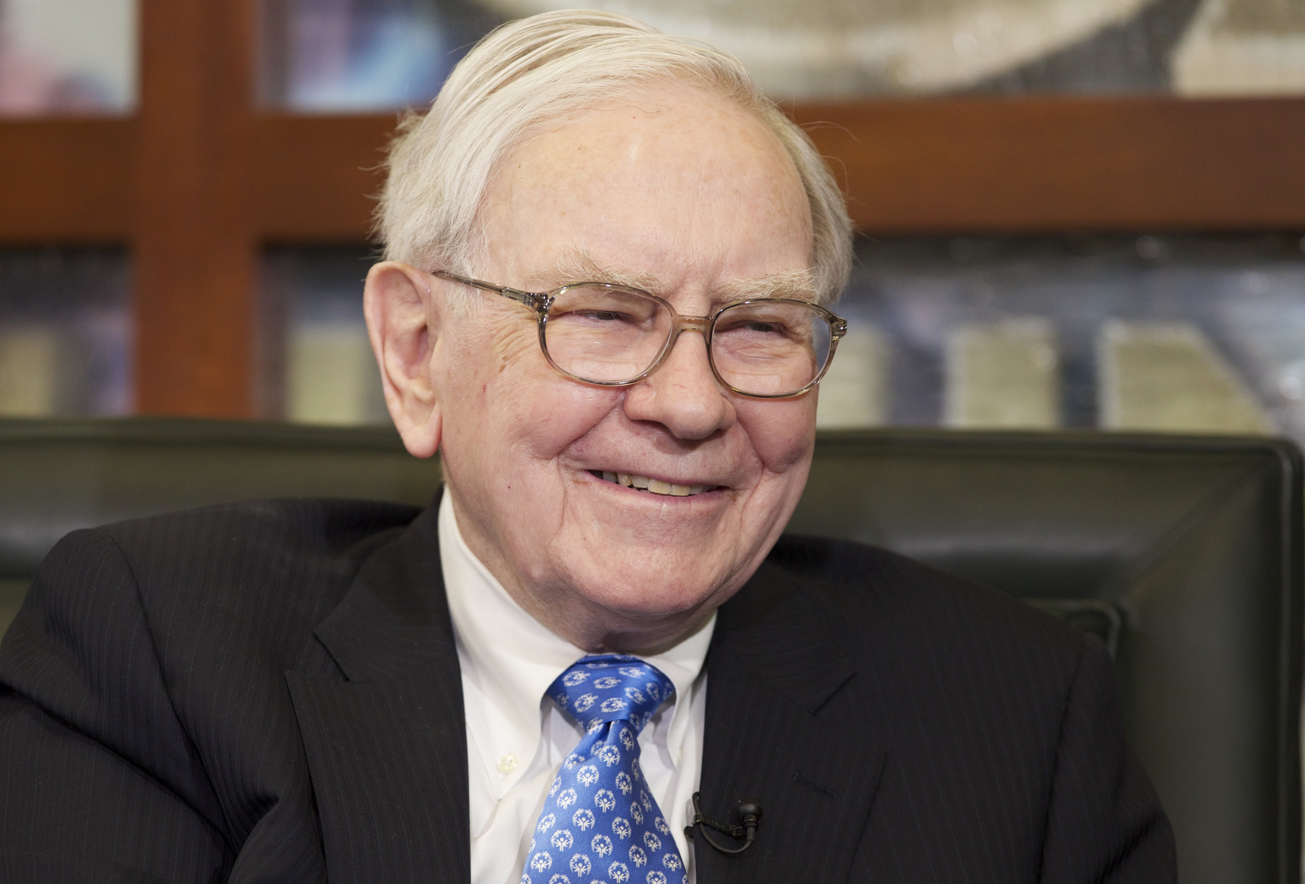 """Warren Buffett says that """"the mother lode of [investment] opportunity resides in America."""""""