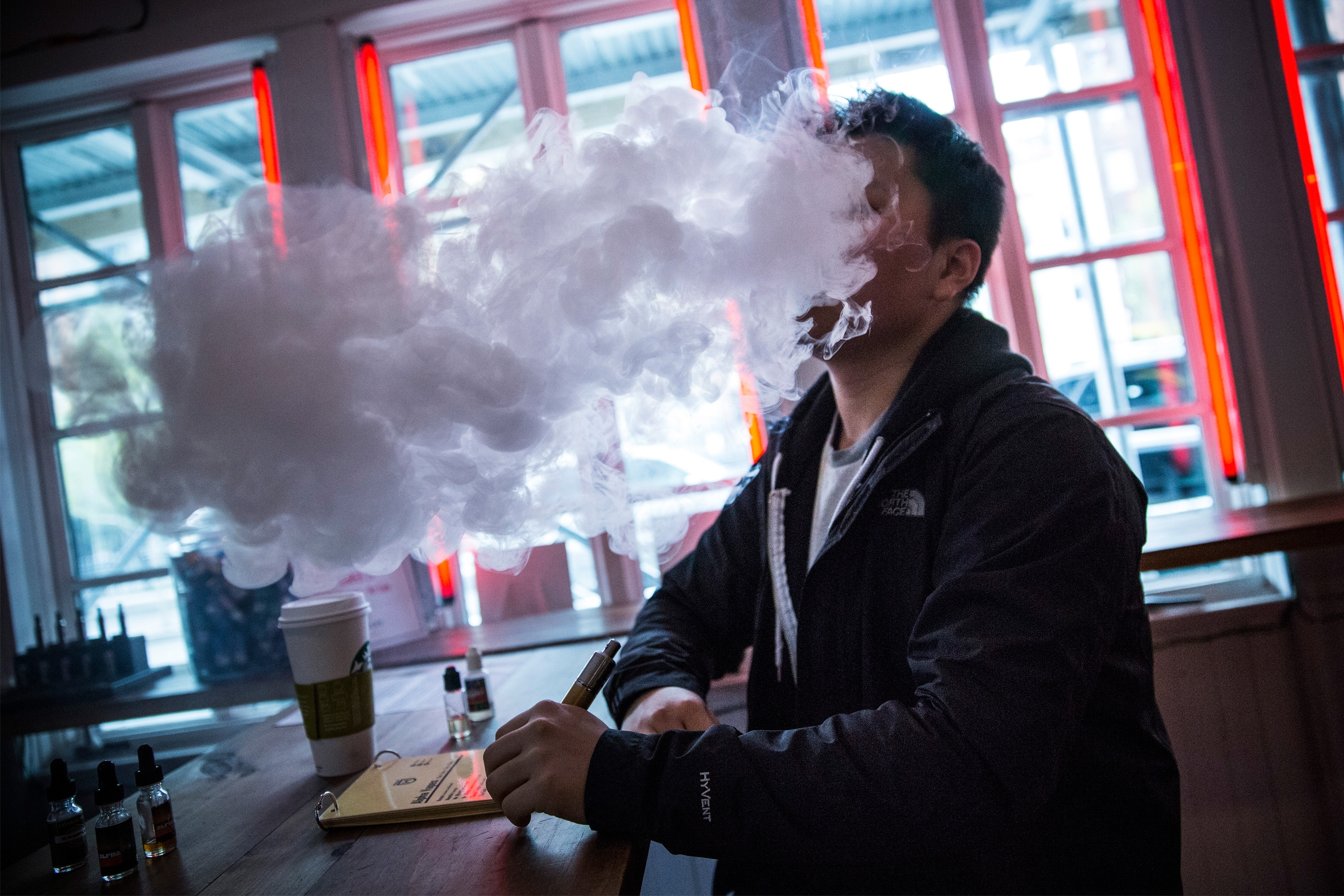 Use of electronic cigarettes in public places is now heavily regulated in New York City. (Getty Images)