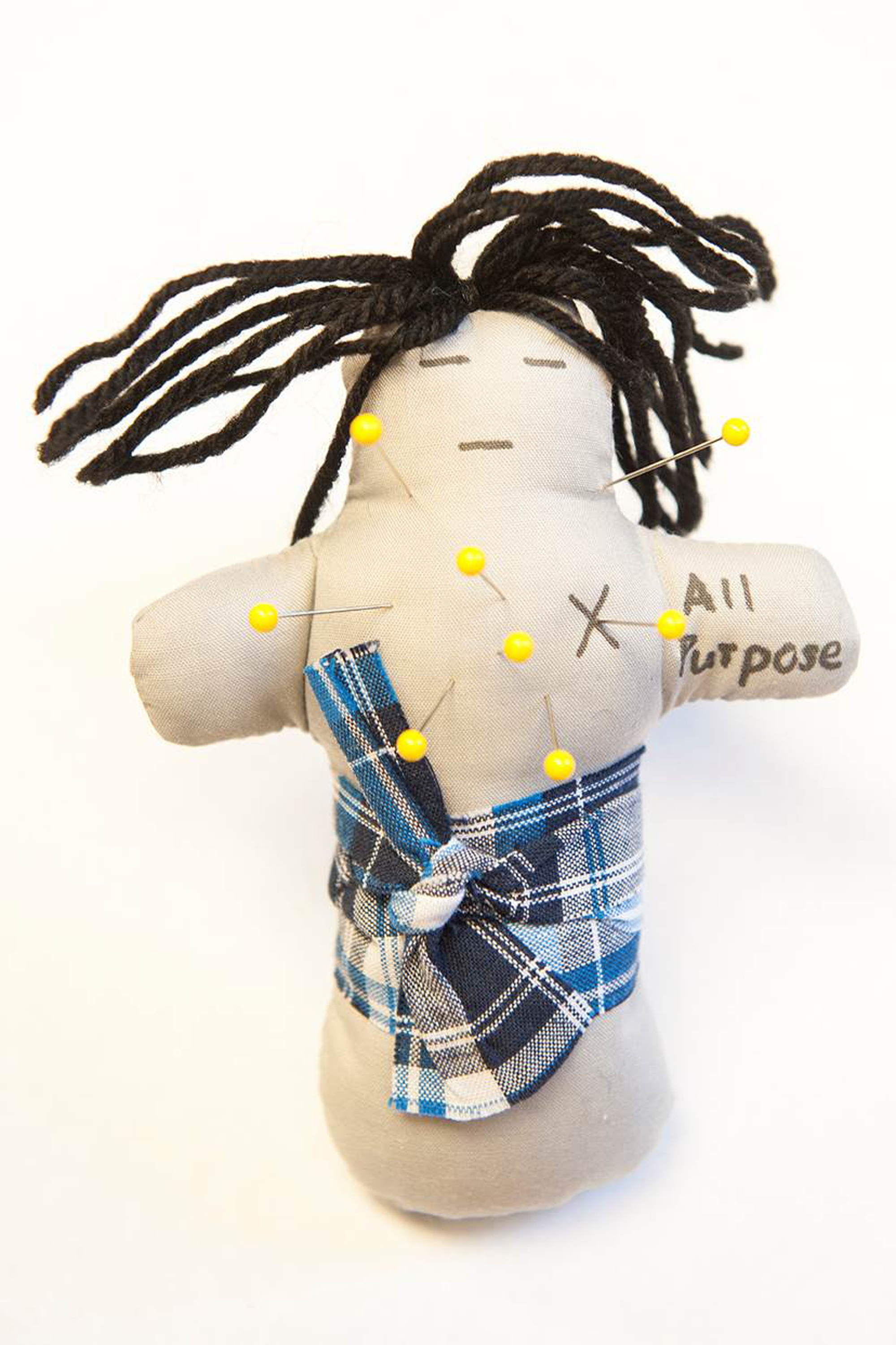 Researchers used voodoo dolls to measure aggression as blood sugar levels rise and fall.