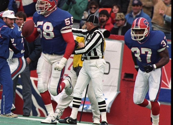 Shane Conlan, who played high school football for Frewsburg, was a first-round draft pick by the Bills in 1987. (News file photo)