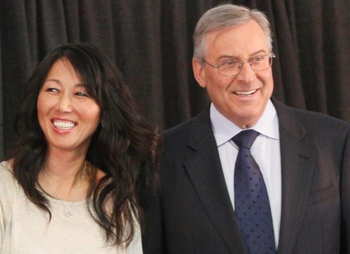Kim and Terry Pegula (Mark Mulville/News file photo)