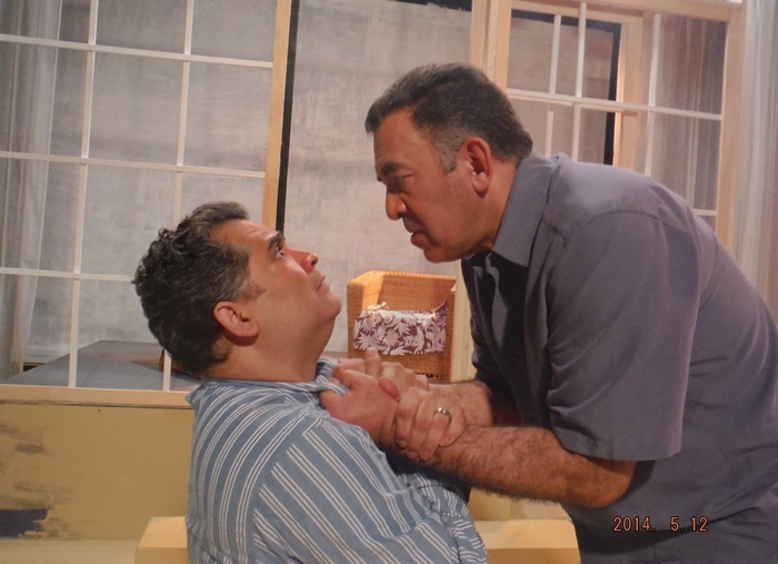 """Rolando Gomez and Victor Morales appear in """"Death and the Maiden."""""""