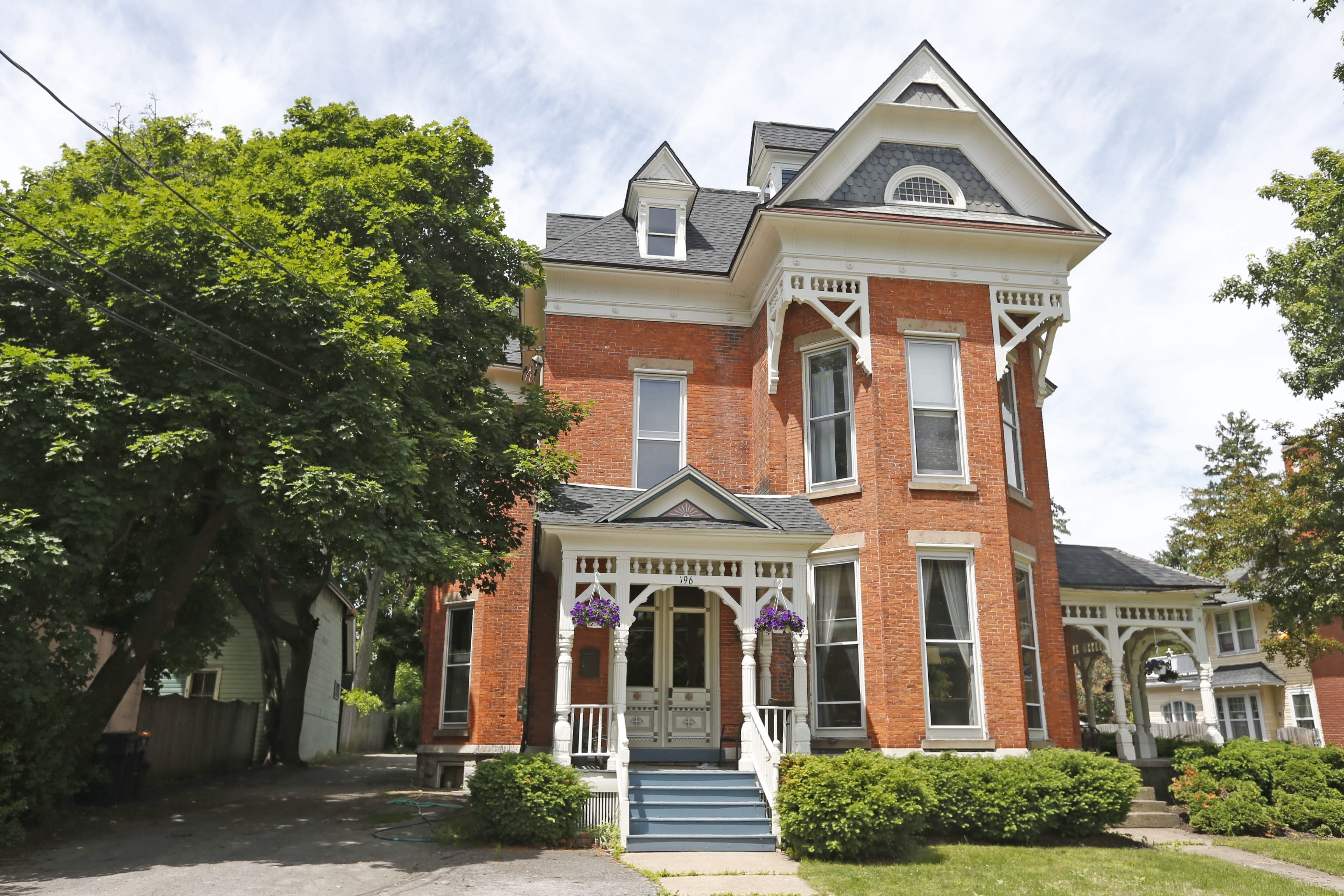 196 Locust St., Lockport, is among the homes on the nomination list for the National Register of Historic Places.  (Robert Kirkham/Buffalo News)