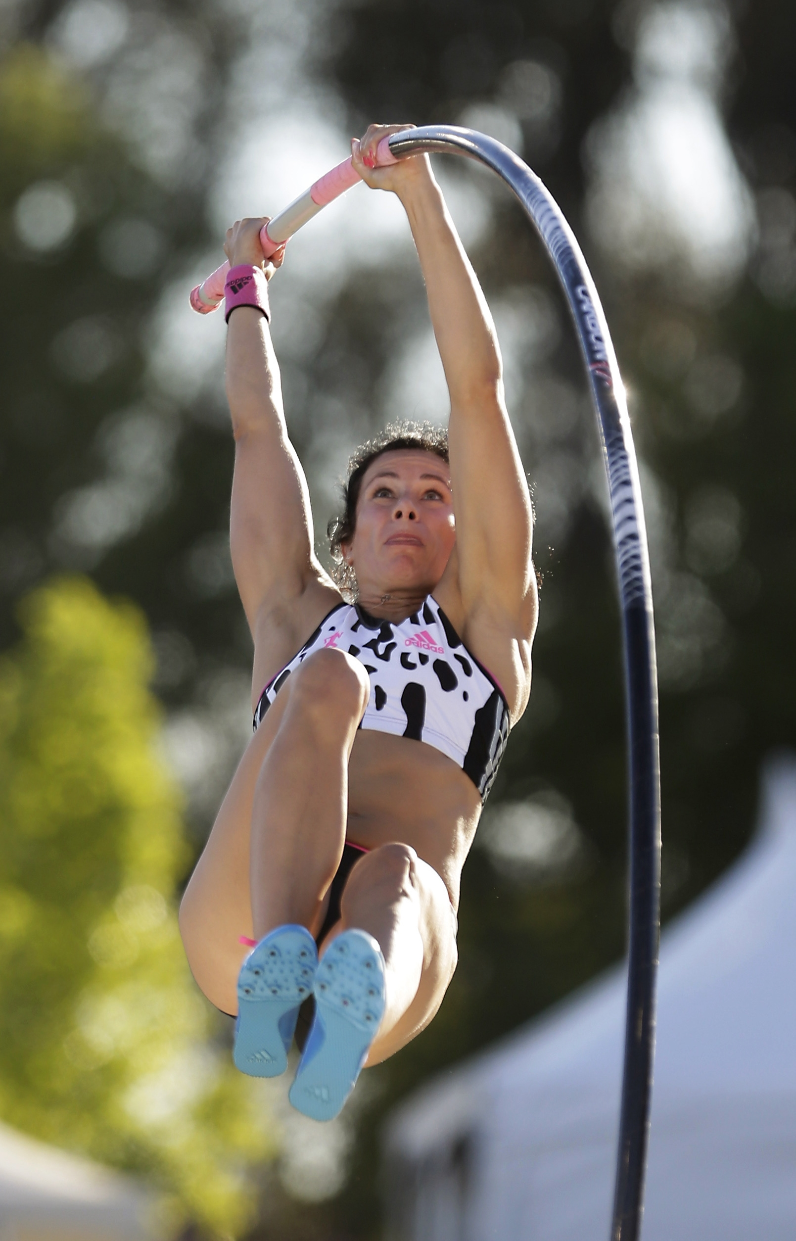Fredonia native Jenn Suhr won her eighth U.S. Outdoor Track & Field Championship after easily clearing 15 feet, 1 inch.