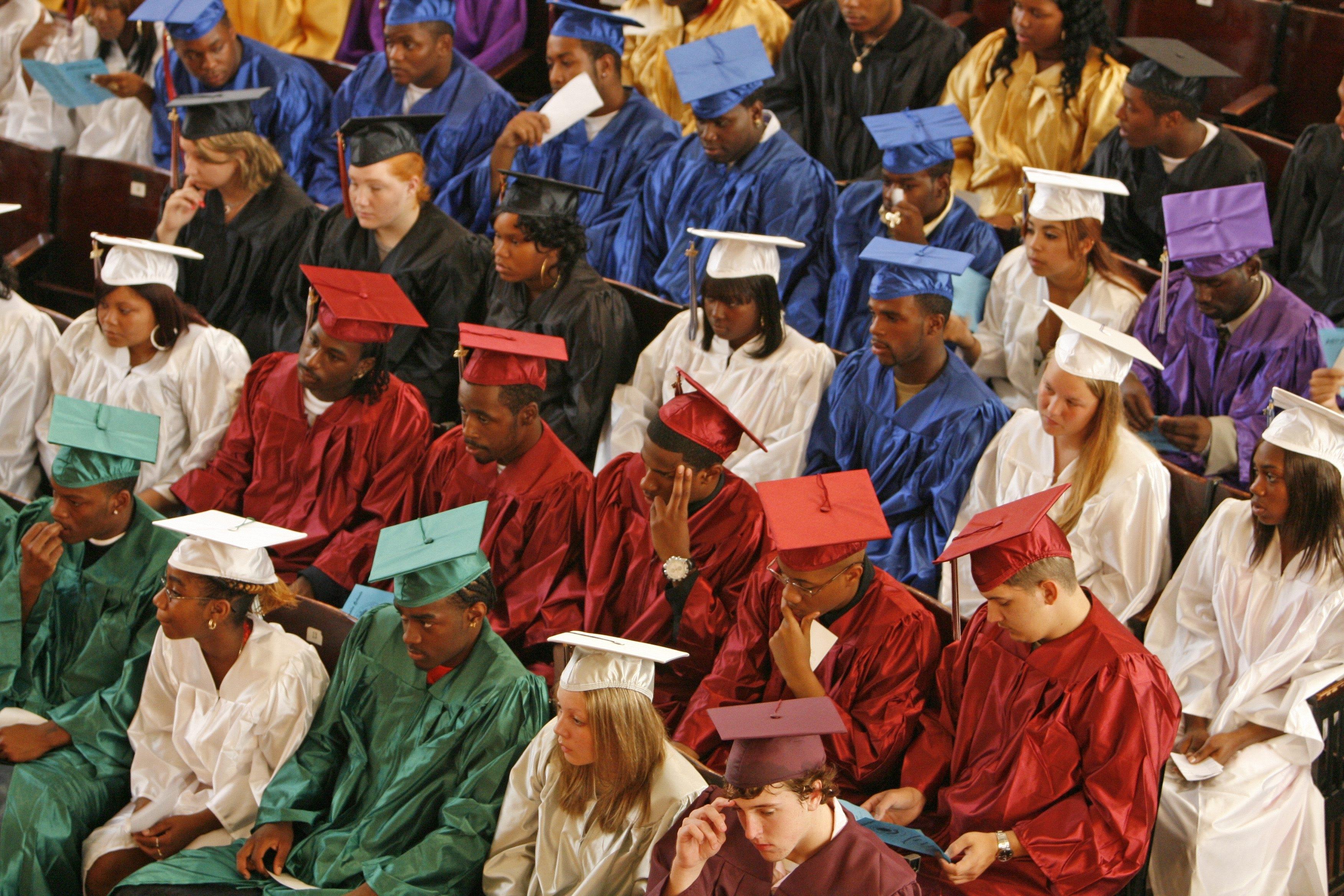 The Buffalo School District has shown signs of progress lately, including higher graduation rates. (Buffalo News file photo)