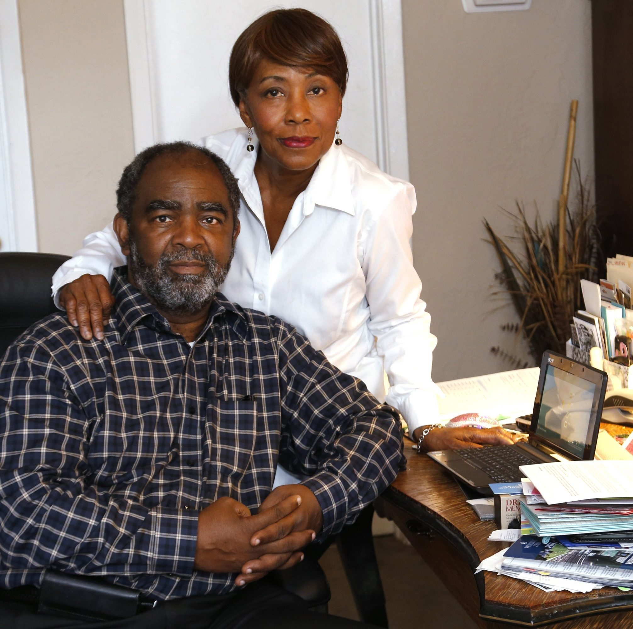 Richard and Sonya Brown of Arlington, Texas, have decided to take an annuity over a lump sum. Richard, who is considering retiring in January, said he doesn't want the worries that come with investing a lump sum himself.