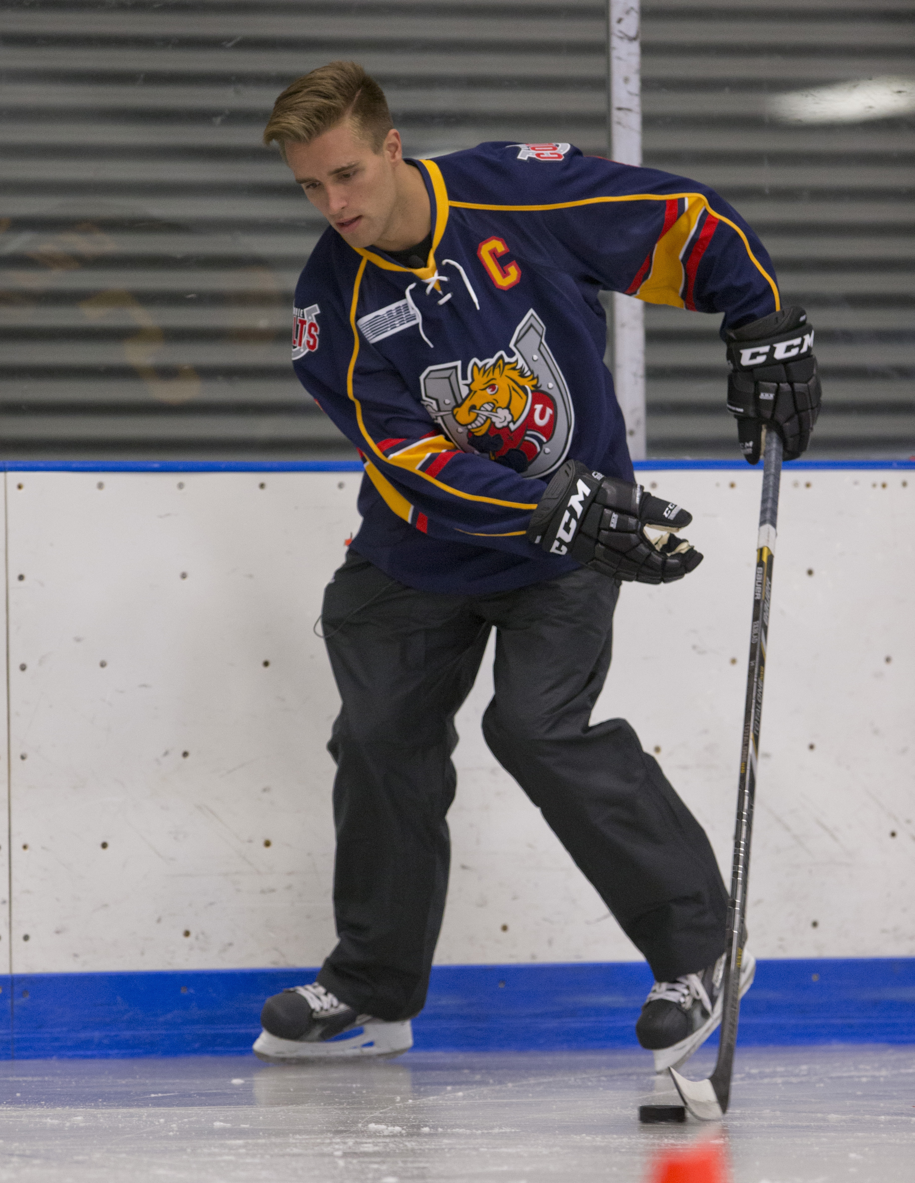 By most accounts, defensemen Aaron Ekblad will be the first pick in tonight's NHL Draft, taken by the Florida Panthers.
