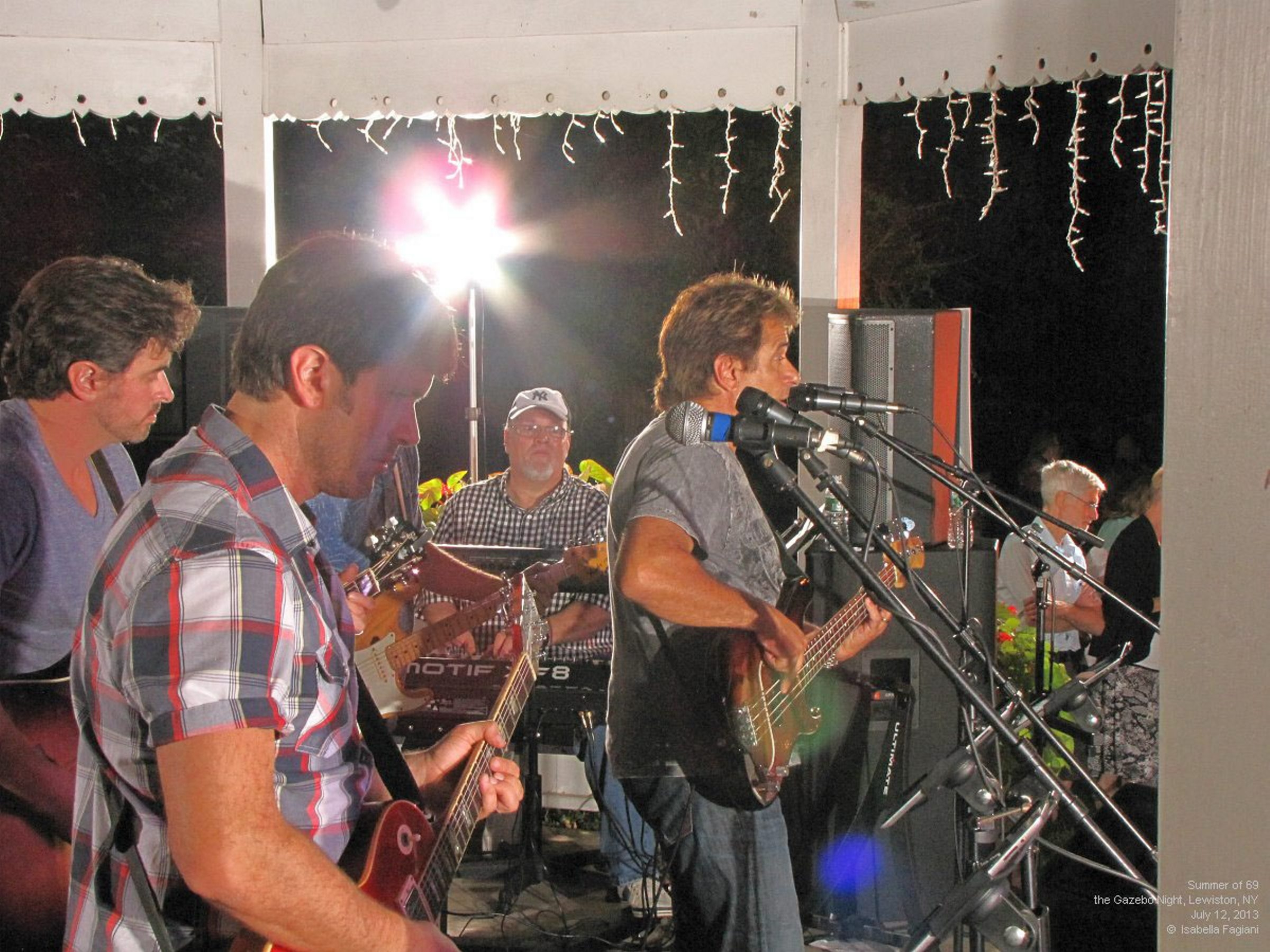 This is Summer of  '69 photo of the Gary Baker Band from last year submitted by Isabella Fagiani. This year's version of the reunion runs July 10-12.