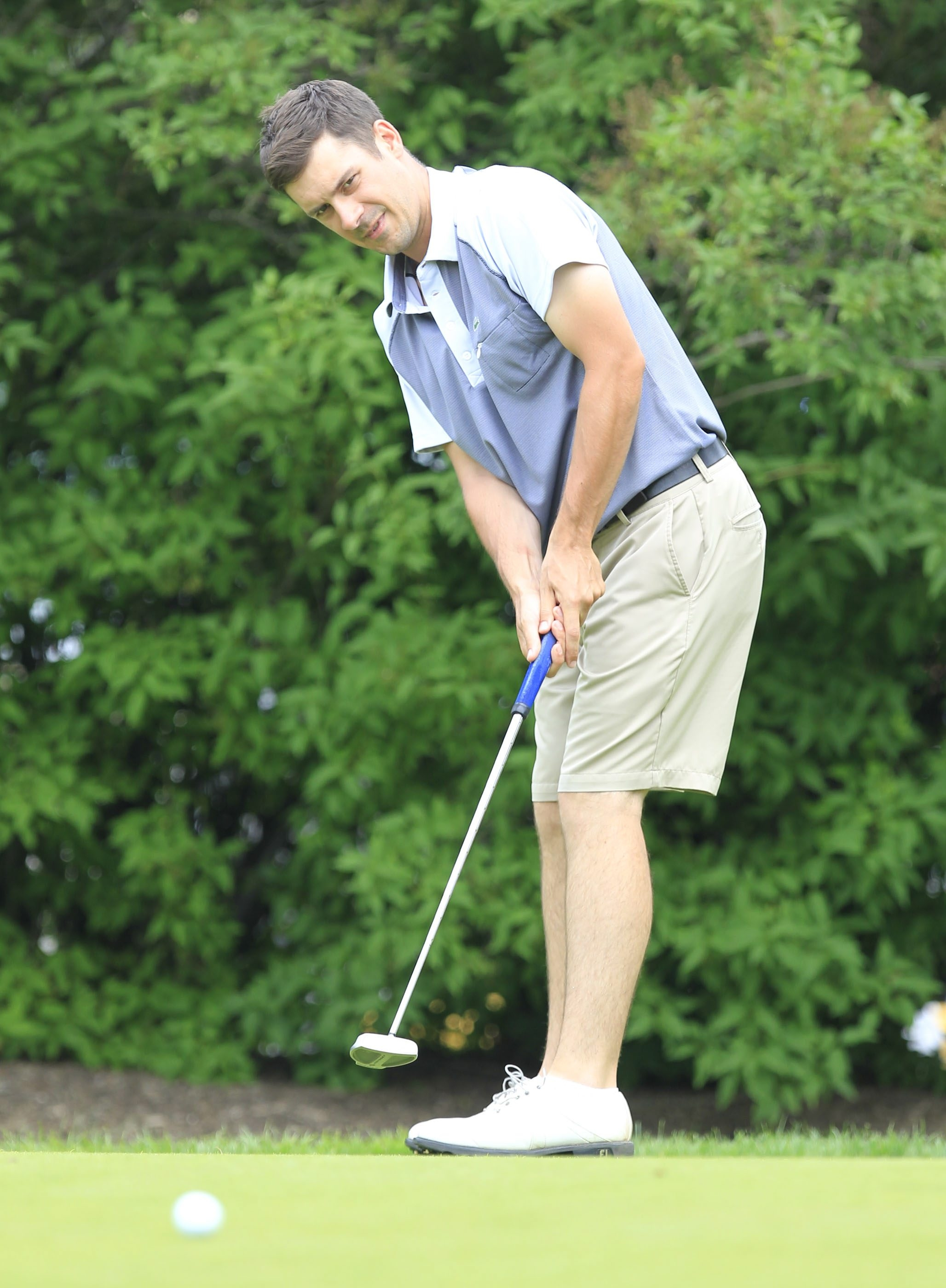 Patrick Sheedy Jr. knows he can shoot a low score at Niagara Falls Country Club.