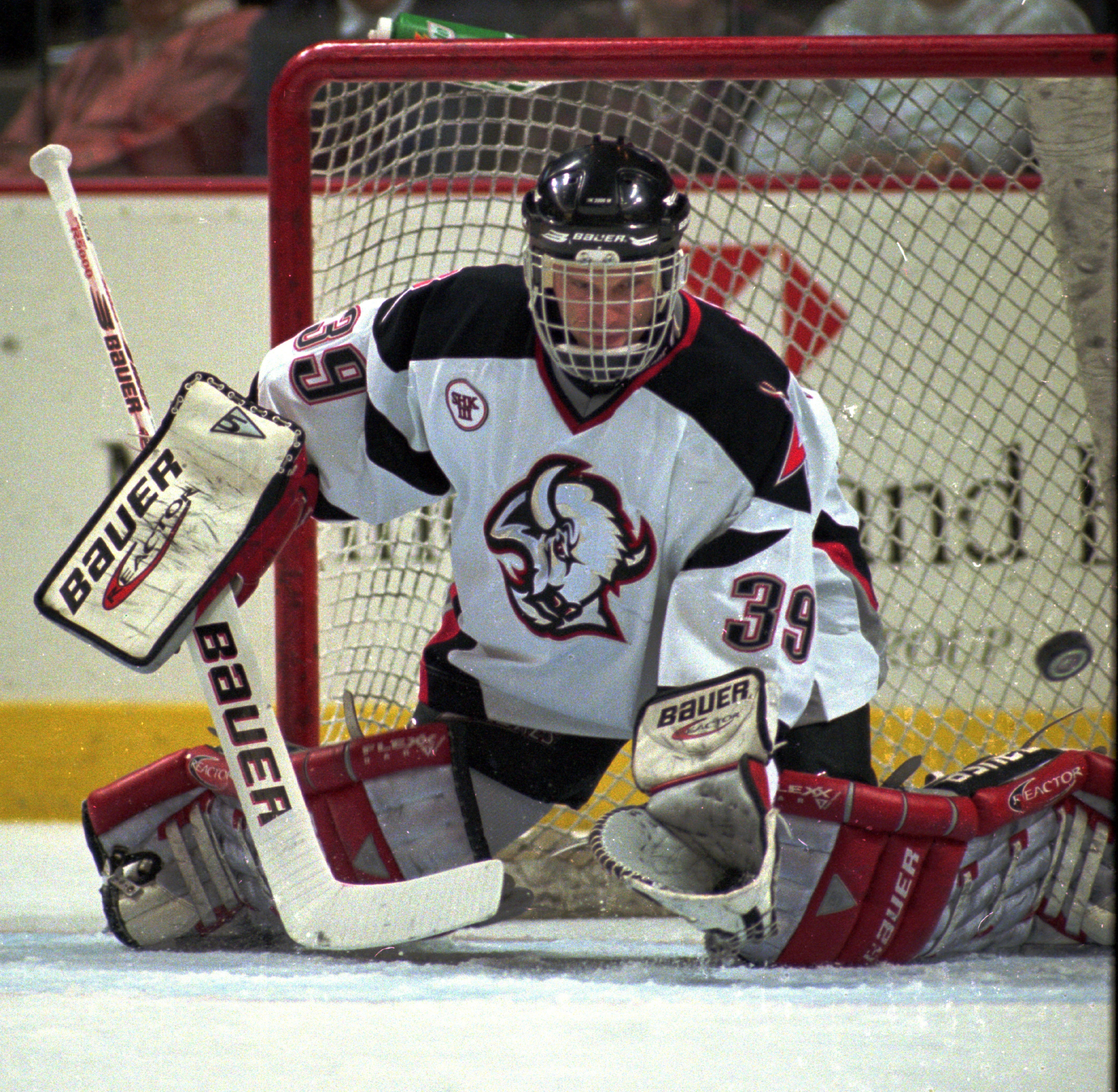 Sabres Hall of Fame goalie Dominik Hasek headlines an esteemed group of first-year players eligible for induction into the Hockey Hall of Fame. The list of inductees will be announced Monday. (Harry Scull Jr. / Buffalo News file photo).