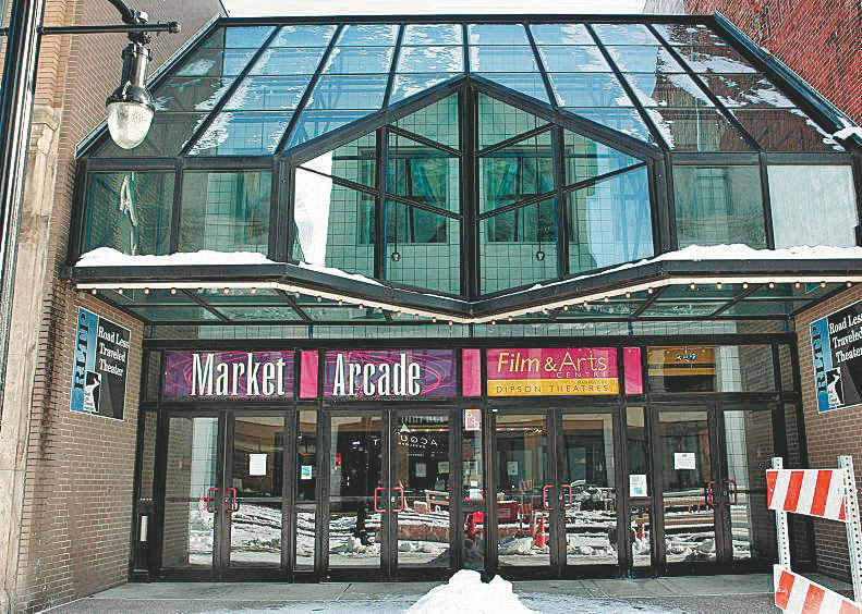 The Market Arcade Film and Arts Centre is in desperate need of expensive uprgades that only private investment can provide. (Buffalo News file photo)