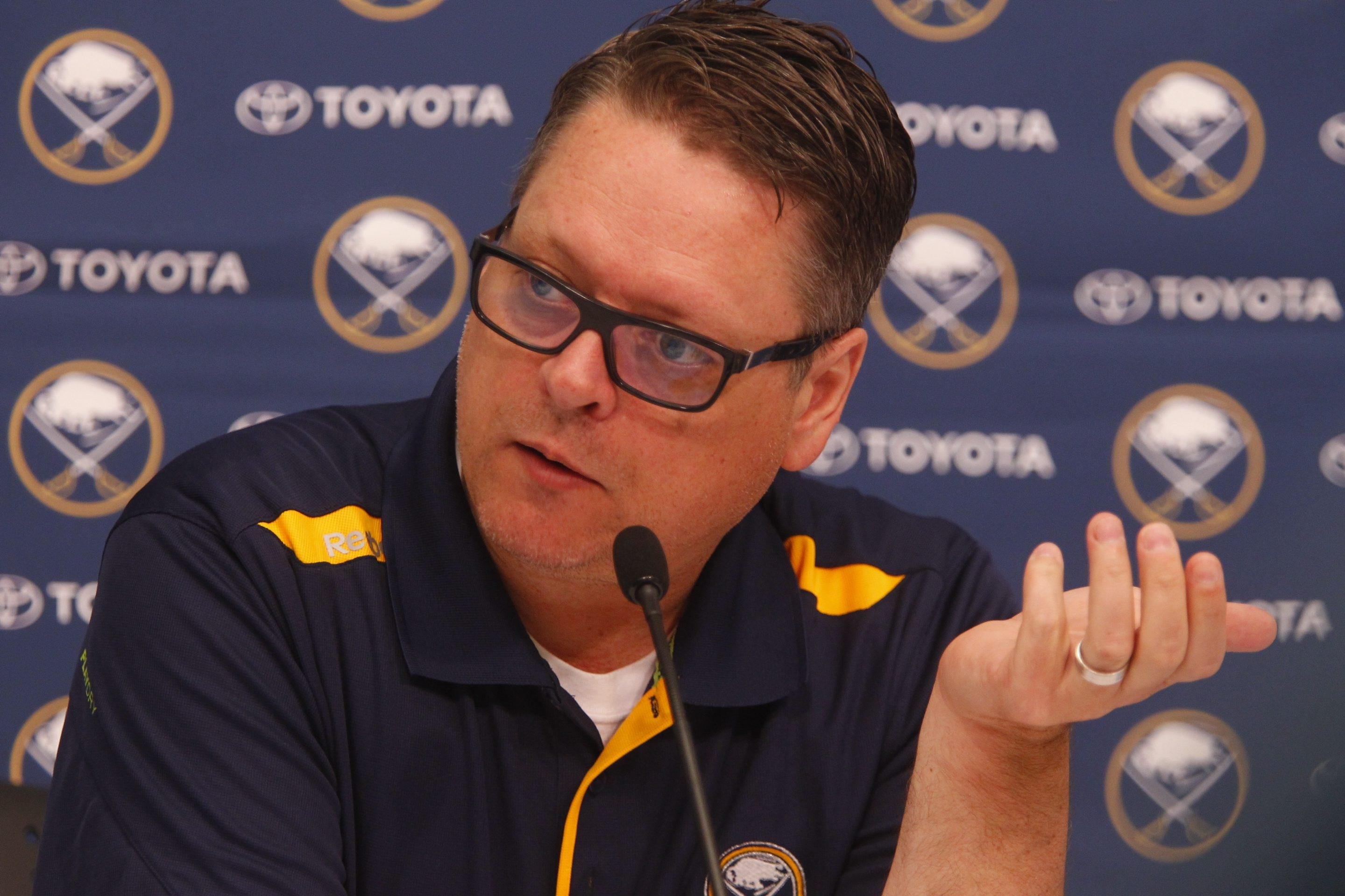 The Buffalo Sabres' Tim Murray has a lot on his plate as he heads into his first NHL Draft as general manager.