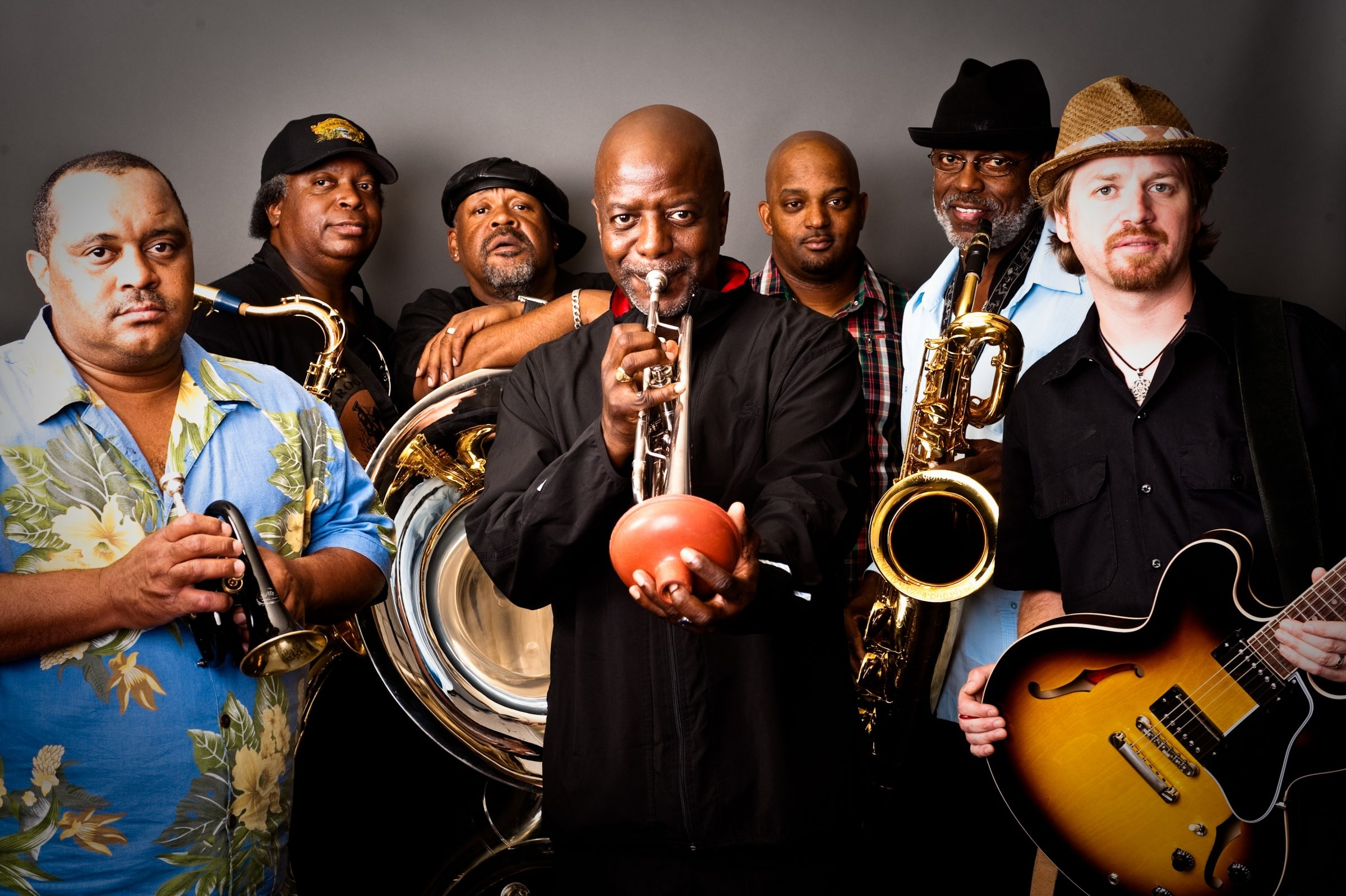 The Dirty Dozen Band plays the Tralf Music Hall on Tuesday.