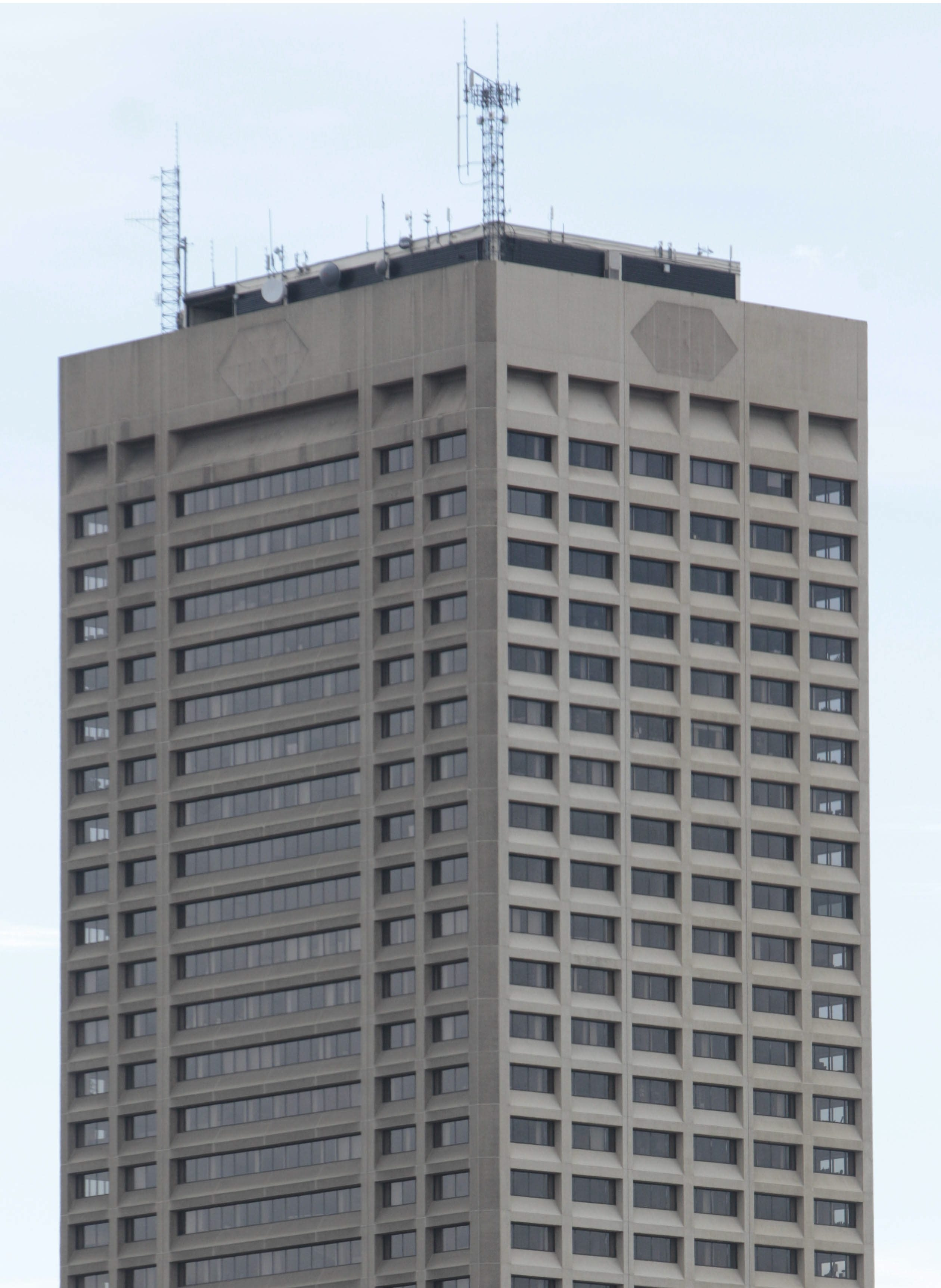 One Seneca Tower, Buffalo's tallest building, has become 94 percent vacant.