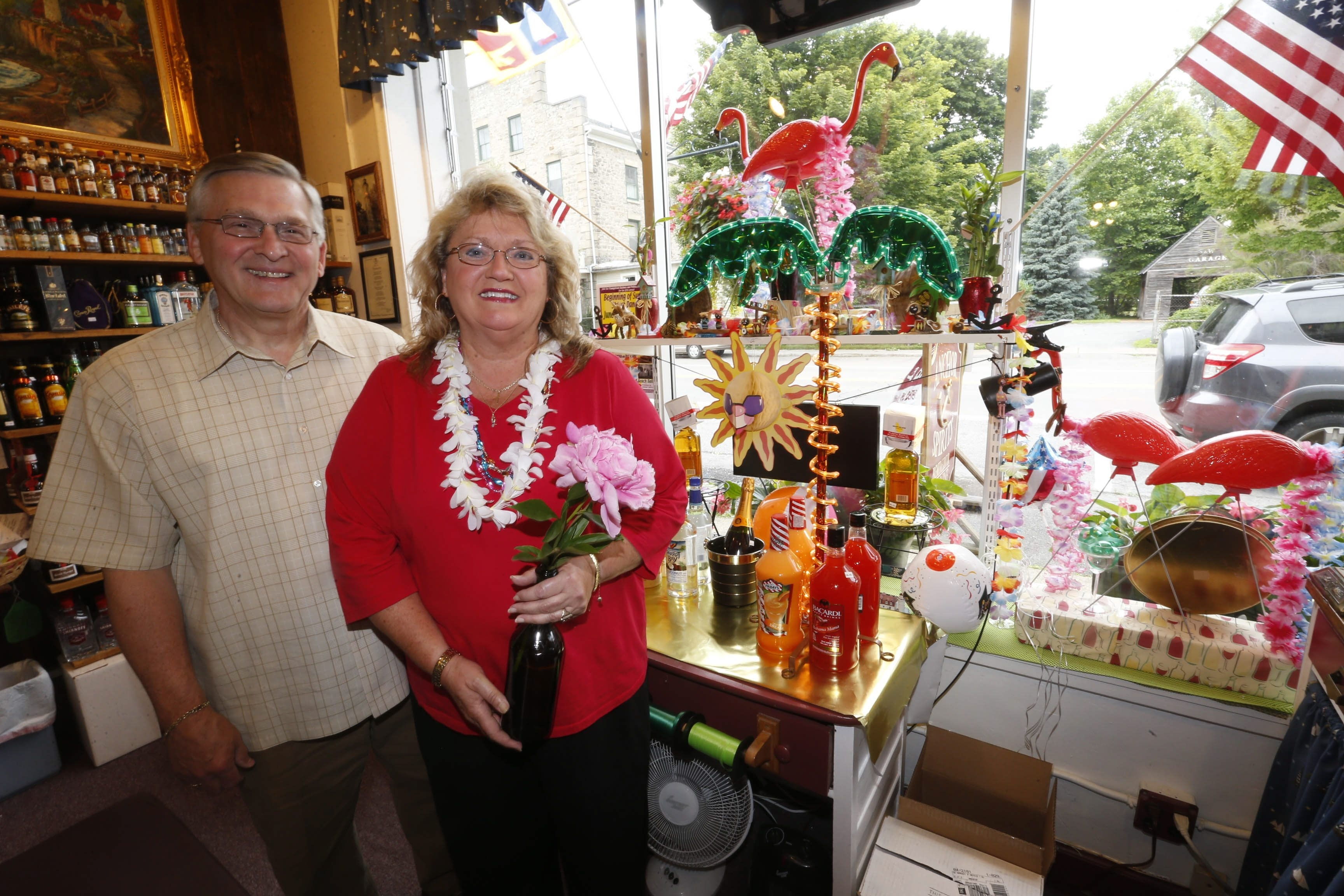 Mark and Cheryl Butera are the owners of  Anchor Spirits and Wines in Youngstown.