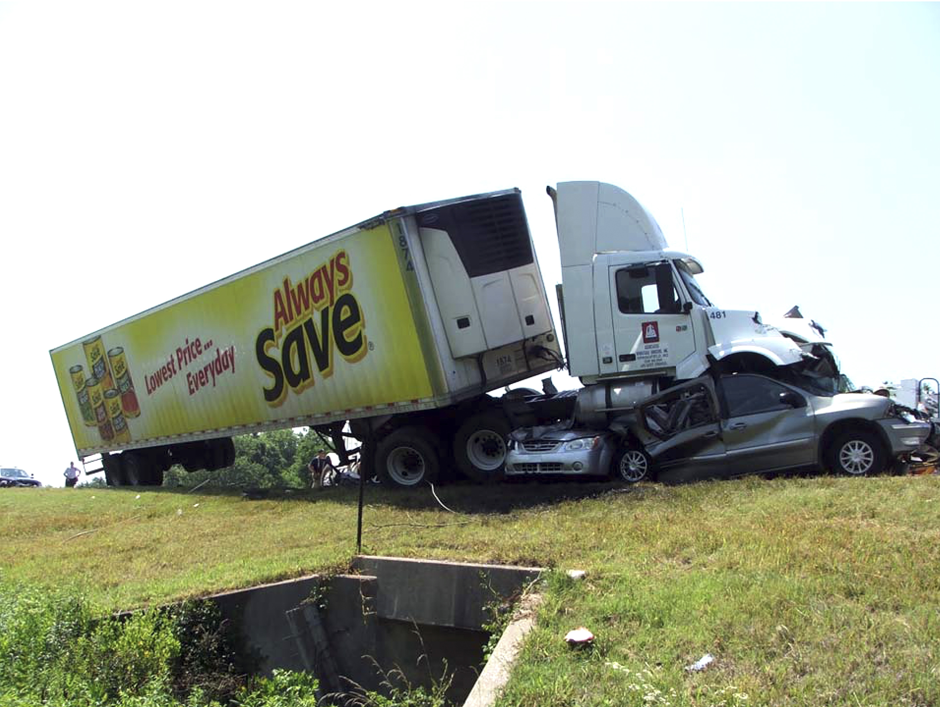 Federal investigators said this crash that killed 10 people near Miami, Okla., in 2009, was the result of driver fatigue.