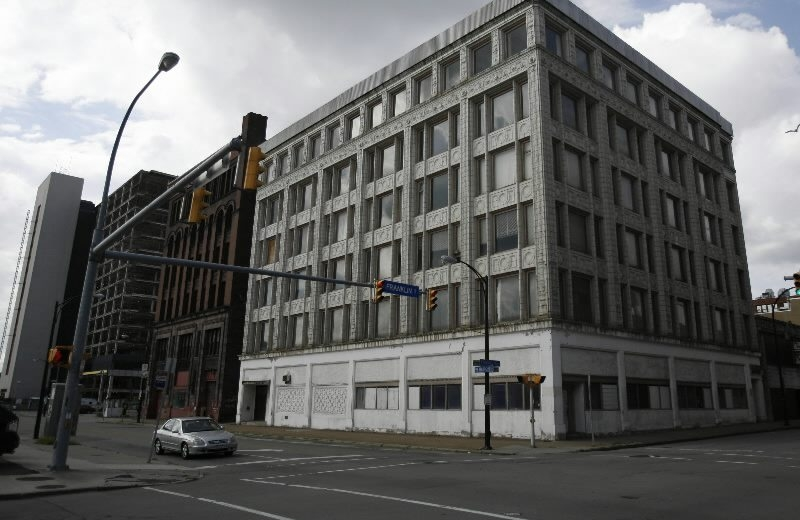 The Curtiss Building at the corner of Franklin and West Huron in Buffalo. (Buffalo News file photo)