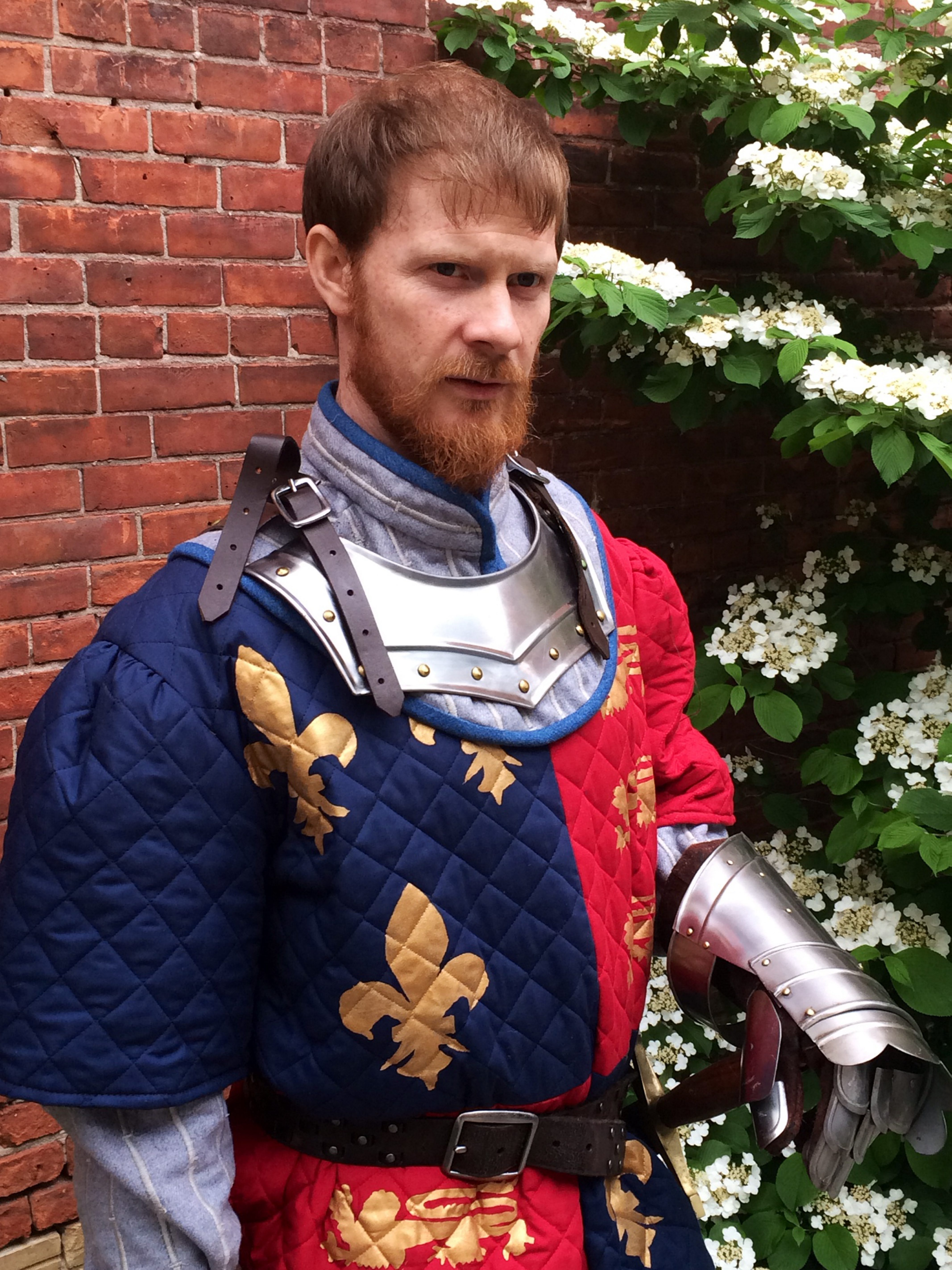 """Patrick Moltane plays the title role in Shakespeare in Delaware Park's production of """"Henry V."""""""