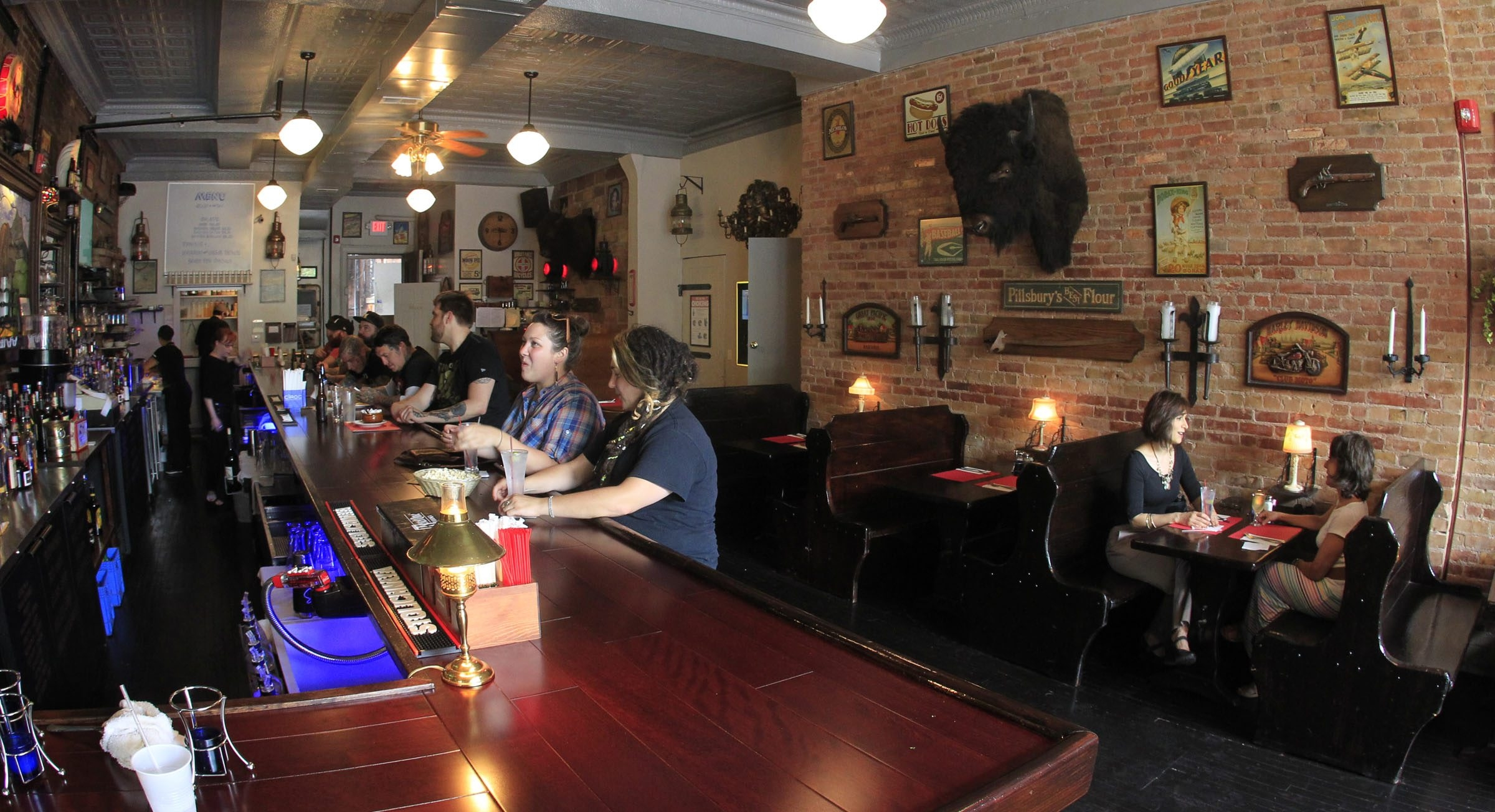 The Alley Cat has a distinct low-key ambience.