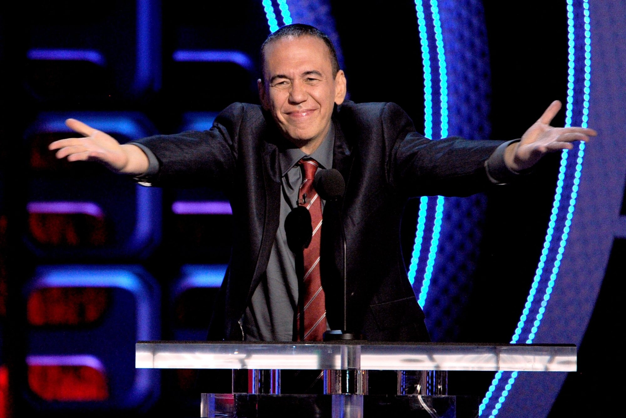 Gilbert Gottfried will be at the Helium Comedy Club Thursday through Saturday. (Getty Images)