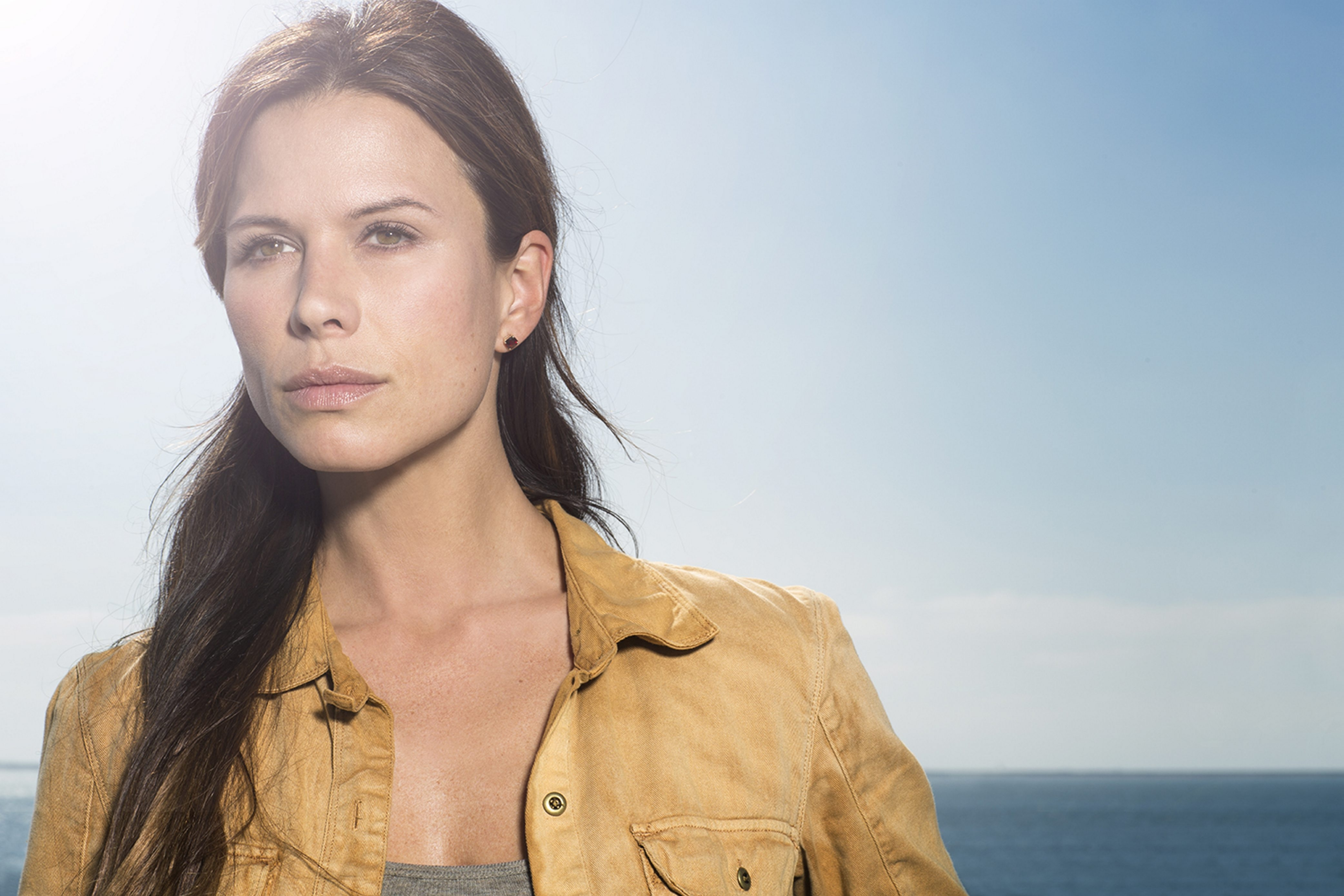 """Rhona Mitra stars as Dr. Rachel Scott in """"The Last Ship,"""" which premieres at 9 tonight on TNT."""