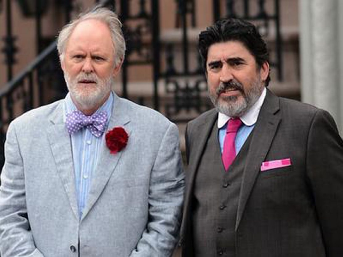 "John Lithgow, left, and Alfred Molina star in ""Love is Strange,"" screening at the Niagara Integrated Film Festival."