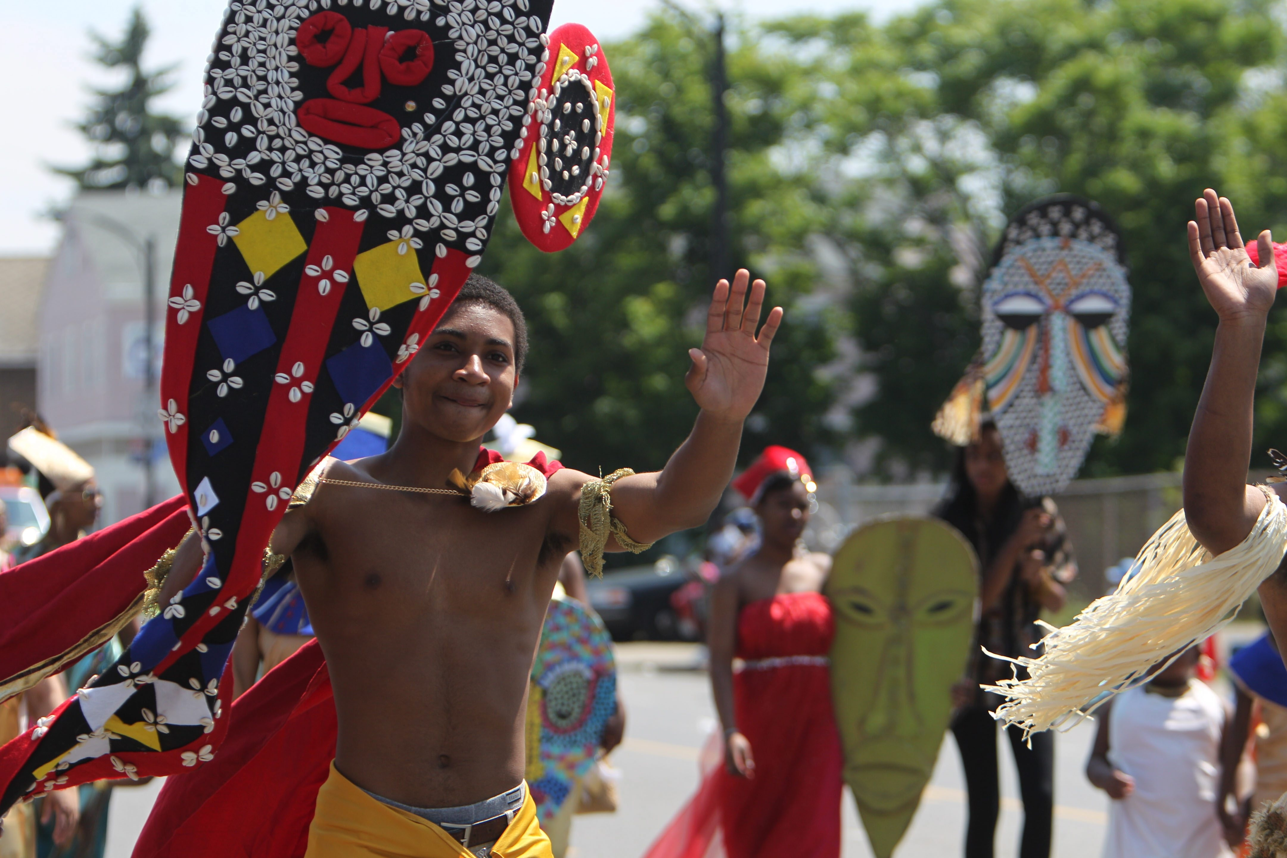 Last year's Juneteenth Festival kicked off with a parade down Genesee Street. The annual event celebrates the  issuance of the Emancipation Proclamation, which freed African-Americans from slavery.
