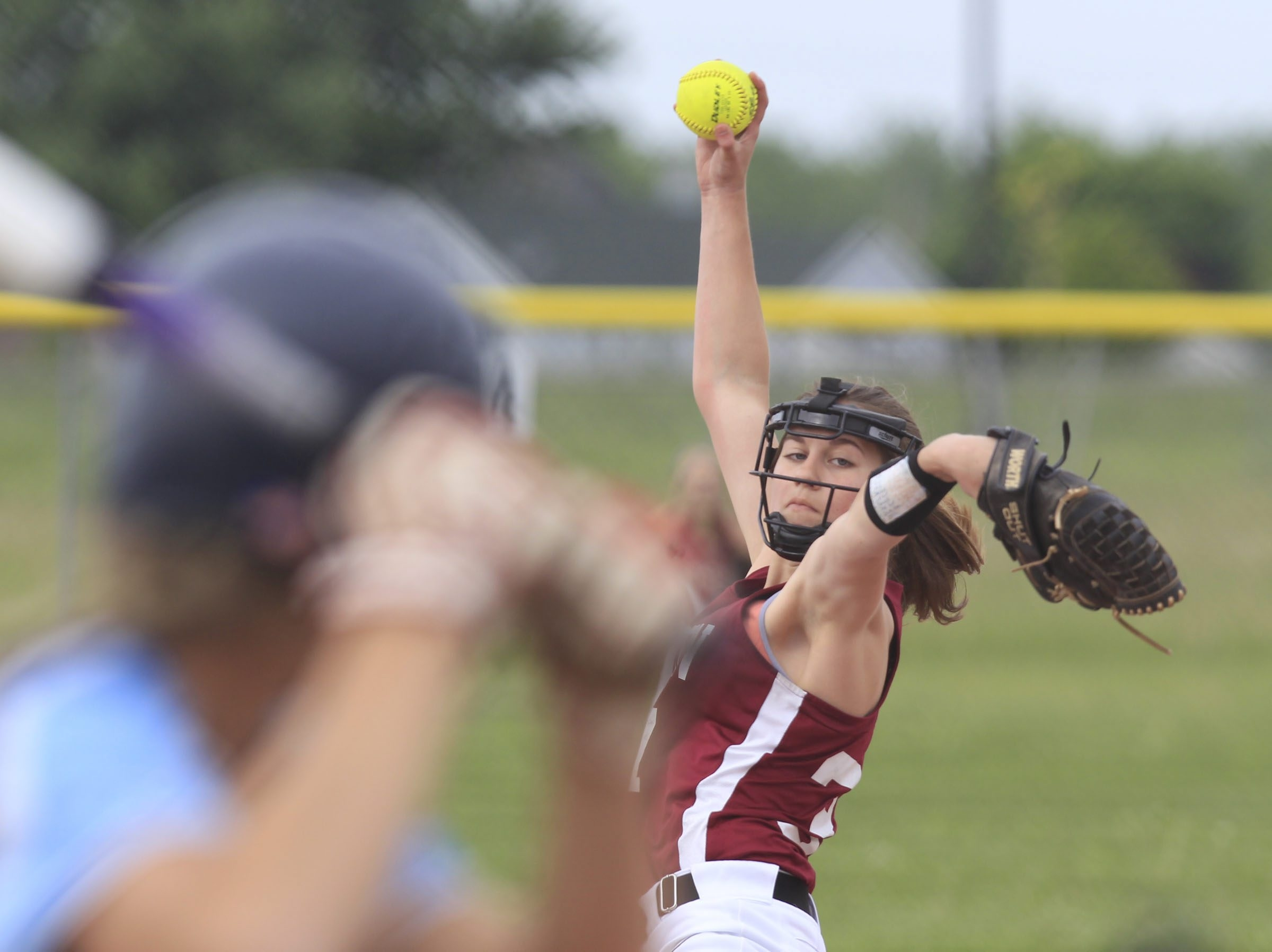 Eden pitcher Jill Murray, with an 8-0 record, struck out 120 of the 239 batters she faced this season. She and the Raiders  face Center Moriches of Long Island's Section XI in a semifinal game Saturday in Glens Falls.