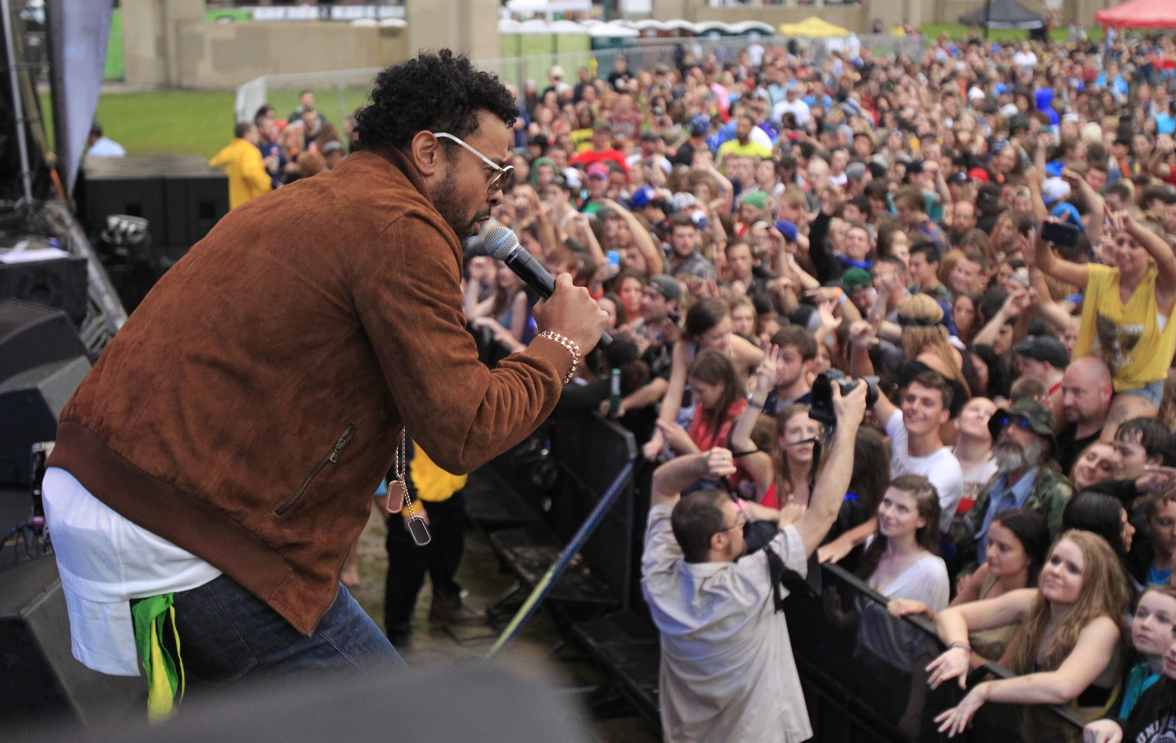 Shaggy performs at Canalside on Thursday, June 12, 2014. (Harry Scull Jr. /Buffalo News)