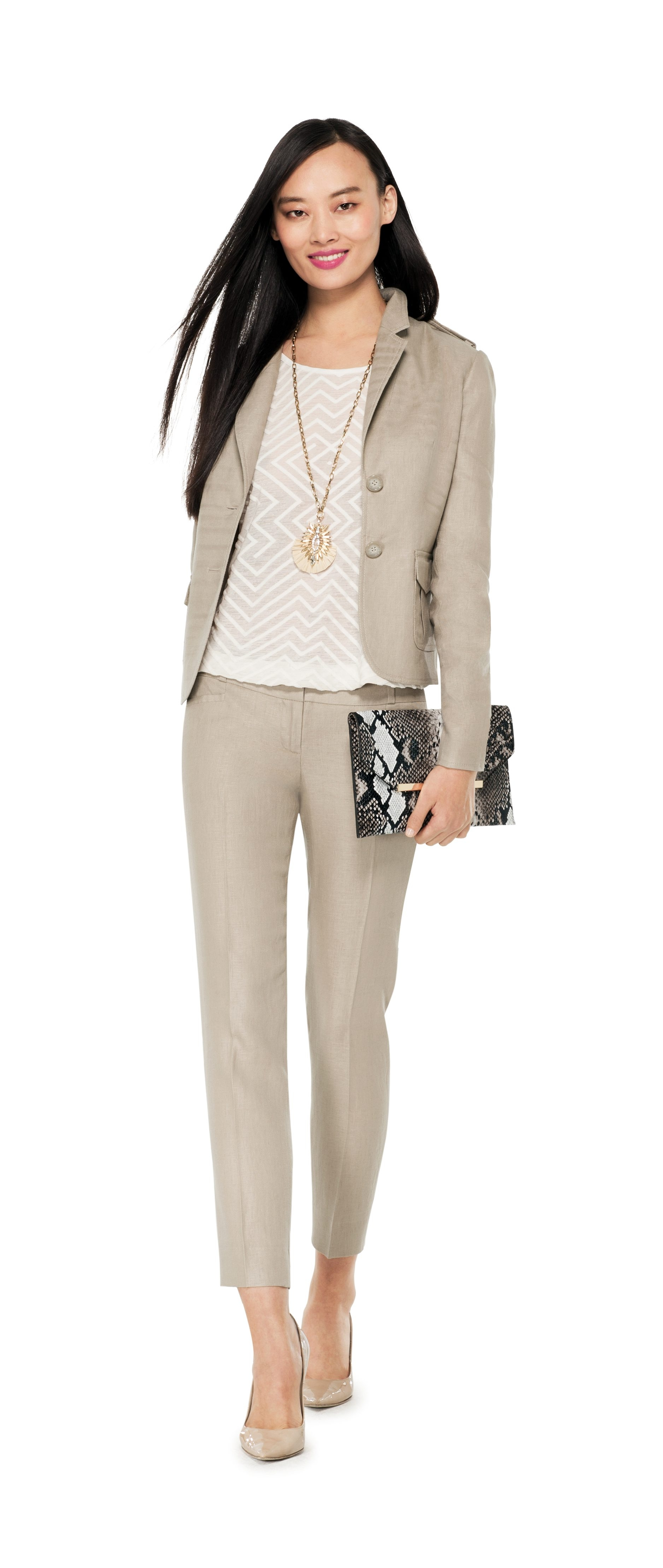 Woman's career look for Friday Home & Style