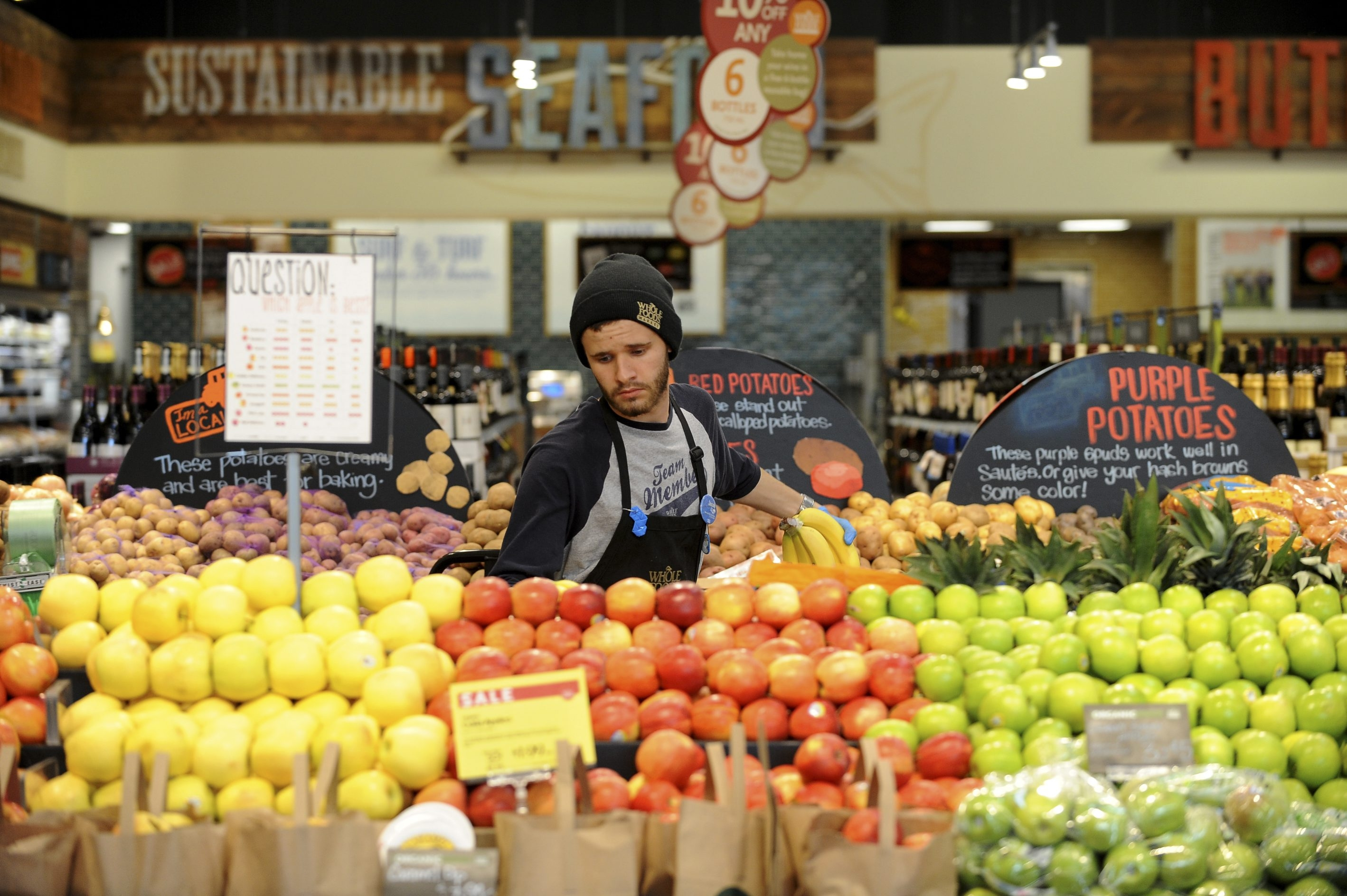 Whole Foods plans to open its first store in the area in the Northtown Plaza in 2016.