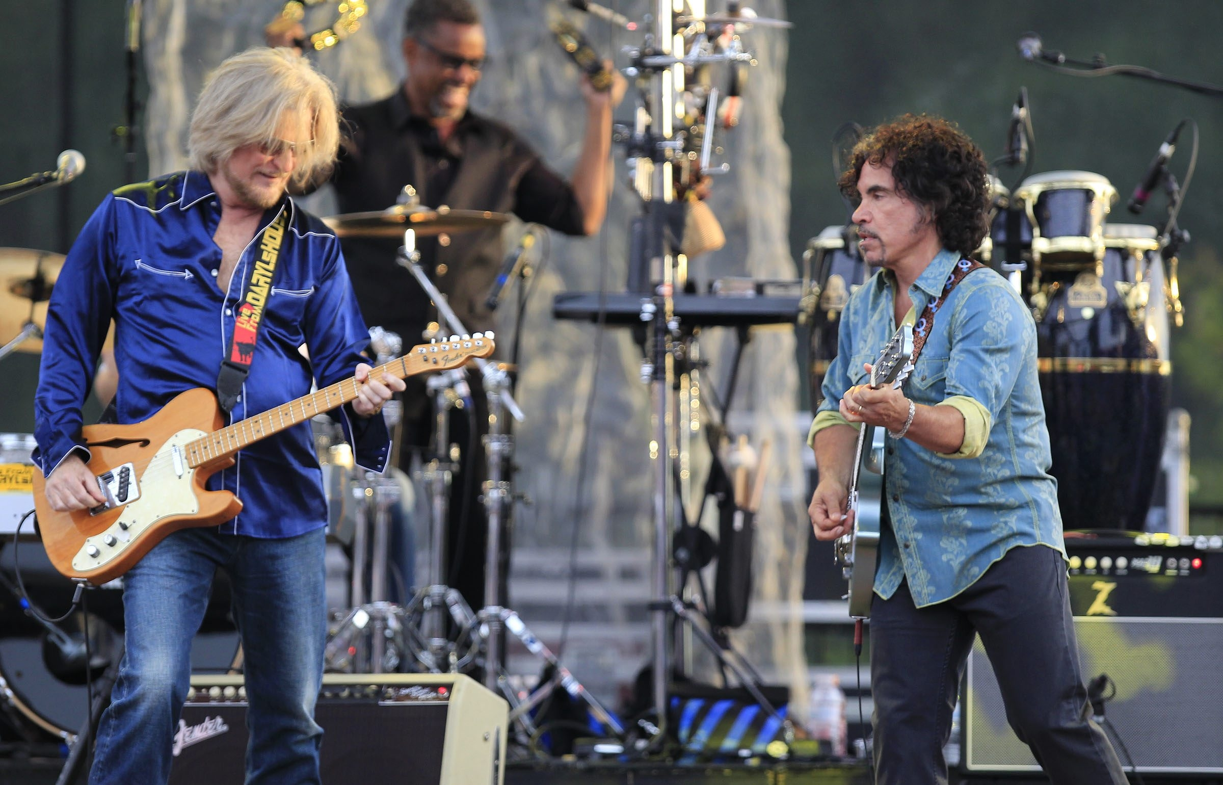 Hall & Oates perform at Artpark on Tuesday. The show was sold out.  (Harry Scull Jr. /Buffalo News)